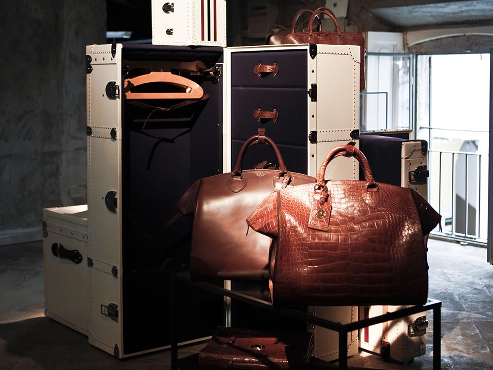 BERTONI 1949 – LUXURY LEATHER GOODS SPRING SUMMER 2015 COLLECTION