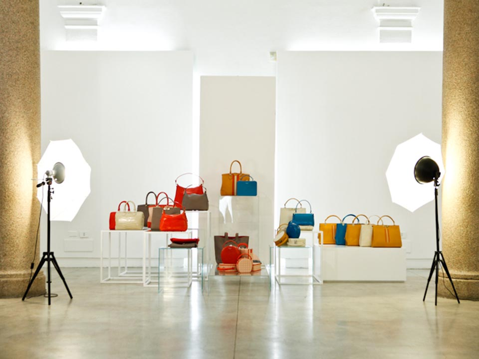 BERTONI 1949 – LUXURY LEATHER GOODS SPRING SUMMER 2015 WOMEN'S COLLECTION