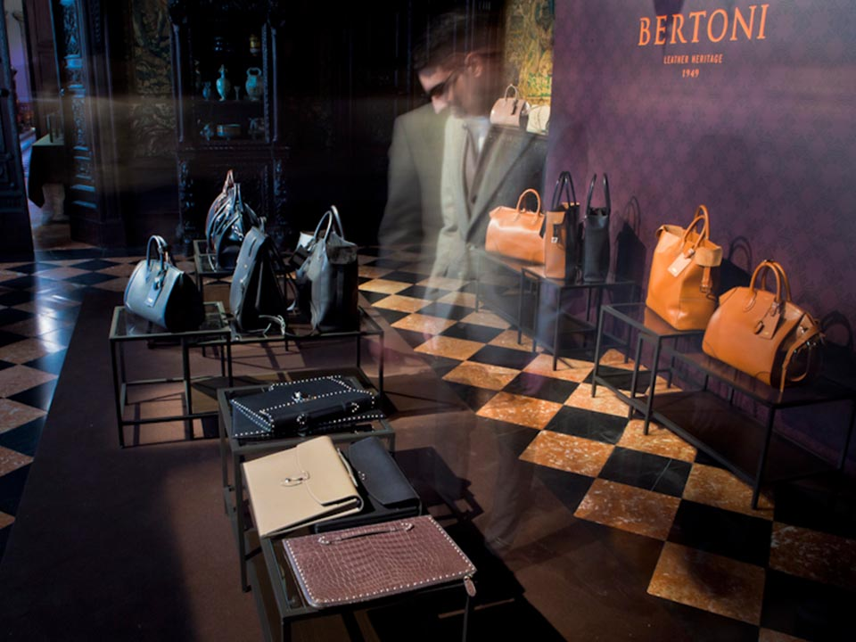 The presentation of the Men's Autumn/Winter 2015-2016 collection