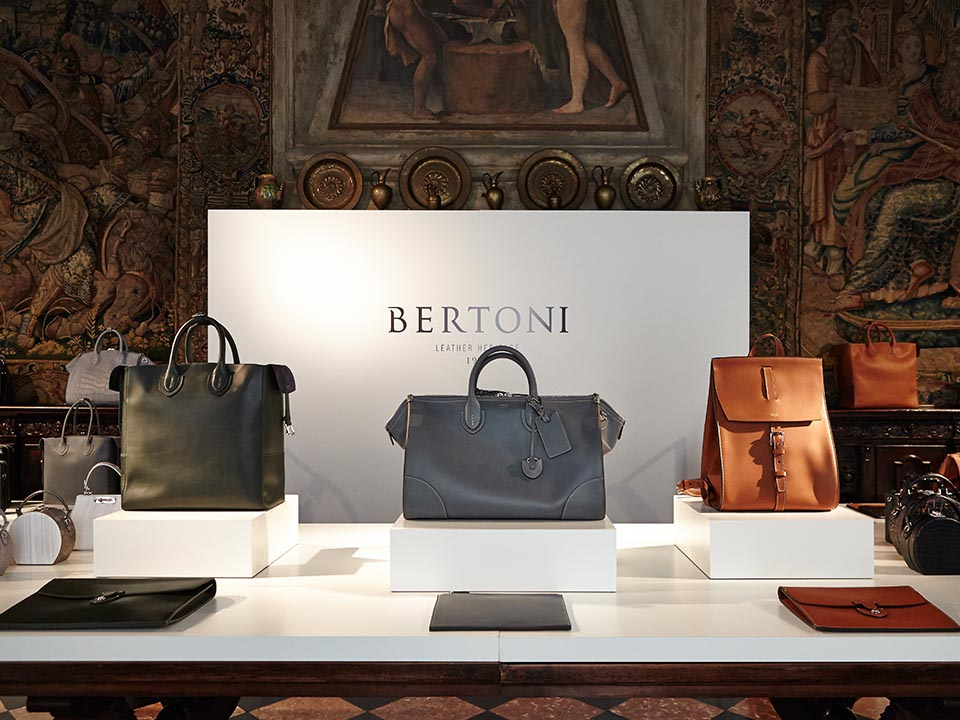 BERTONI 1949 – LUXURY LEATHER GOODS SPRING SUMMER 2016 B-SIDE AMERICAN DREAM COLLECTION
