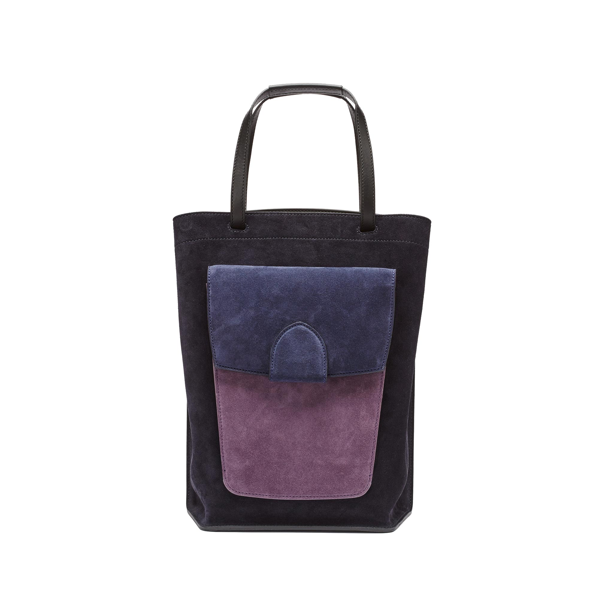 Arizona-black-navy-purple-suede-bag-Bertoni-1949