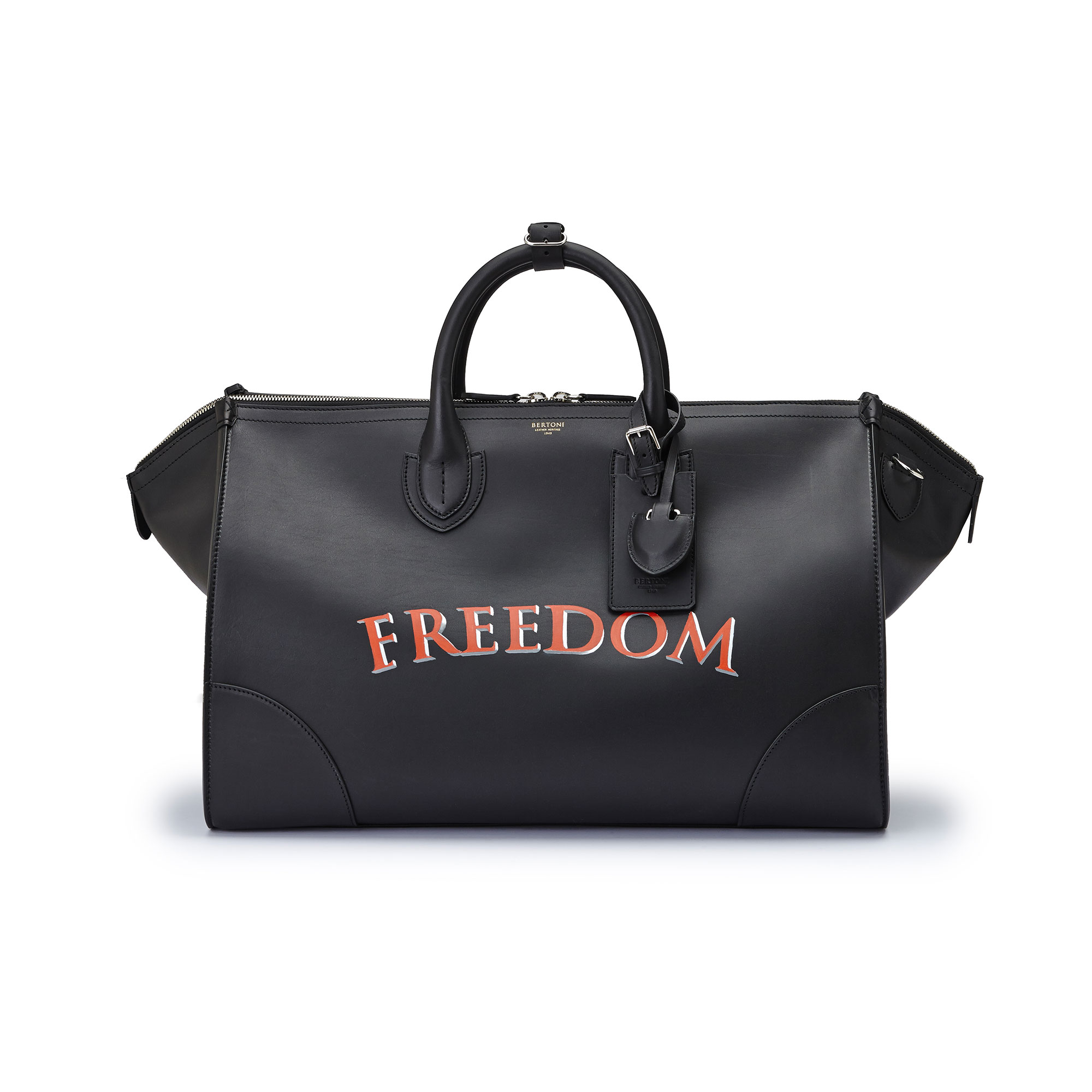 The black freedom french calf E/W Gulliver 52 by Bertoni 1949 01