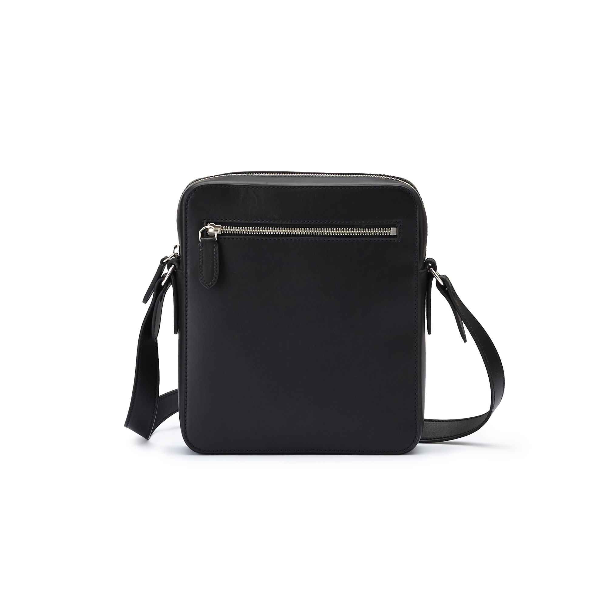 The black french calf Man Bag by Bertoni 1949 04