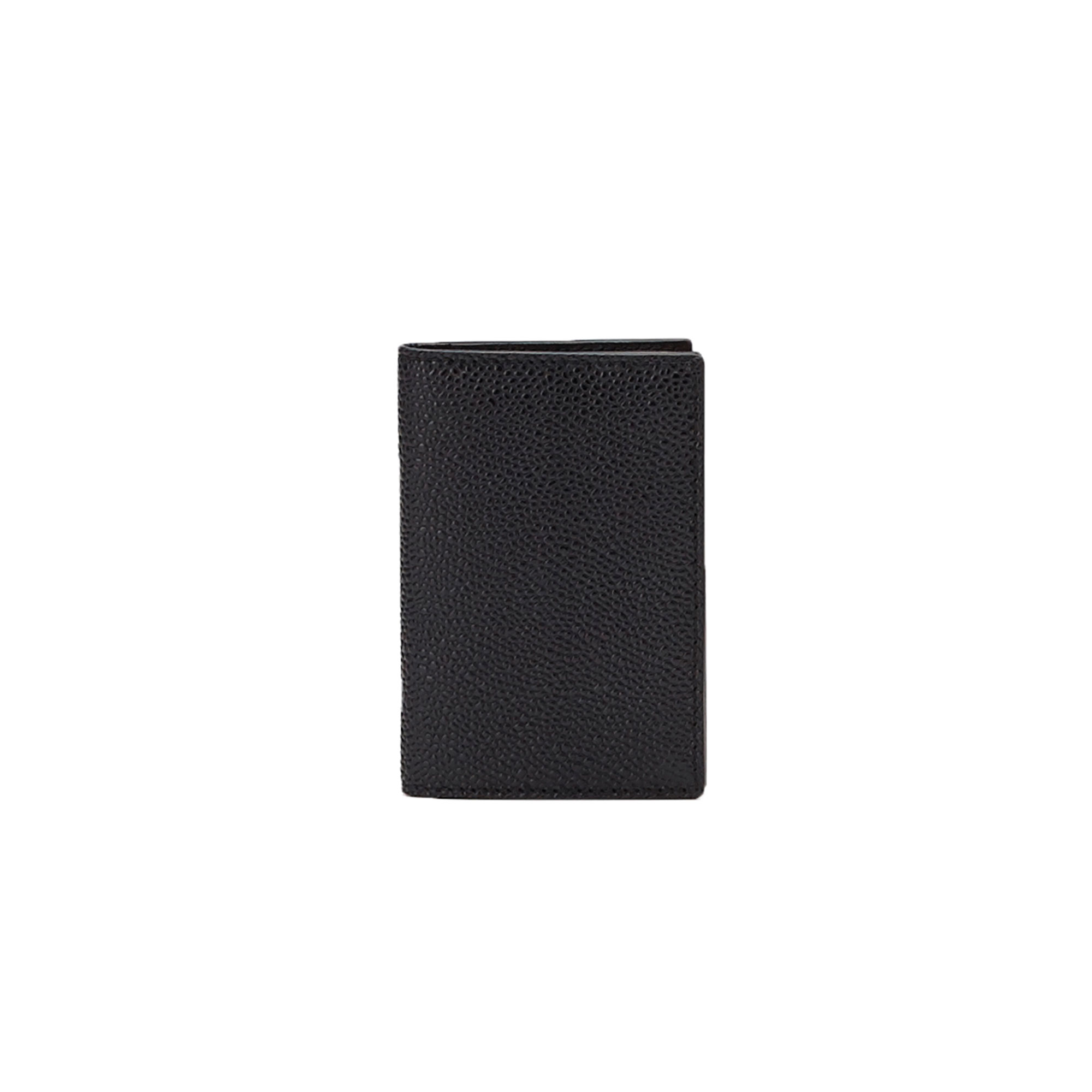 The black grain calf Business Card Holder by Bertoni 1949 01