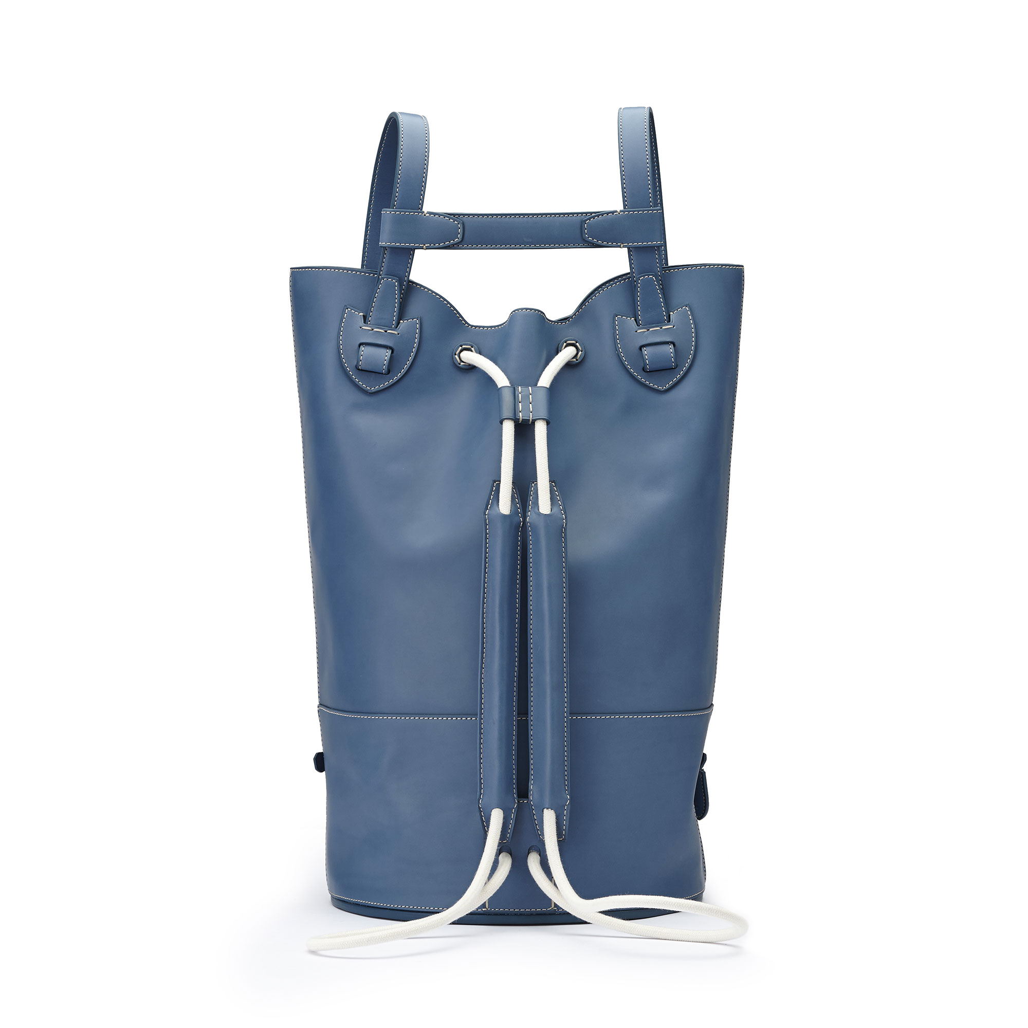 The blue french calf Marine Sac by Bertoni 1949 03