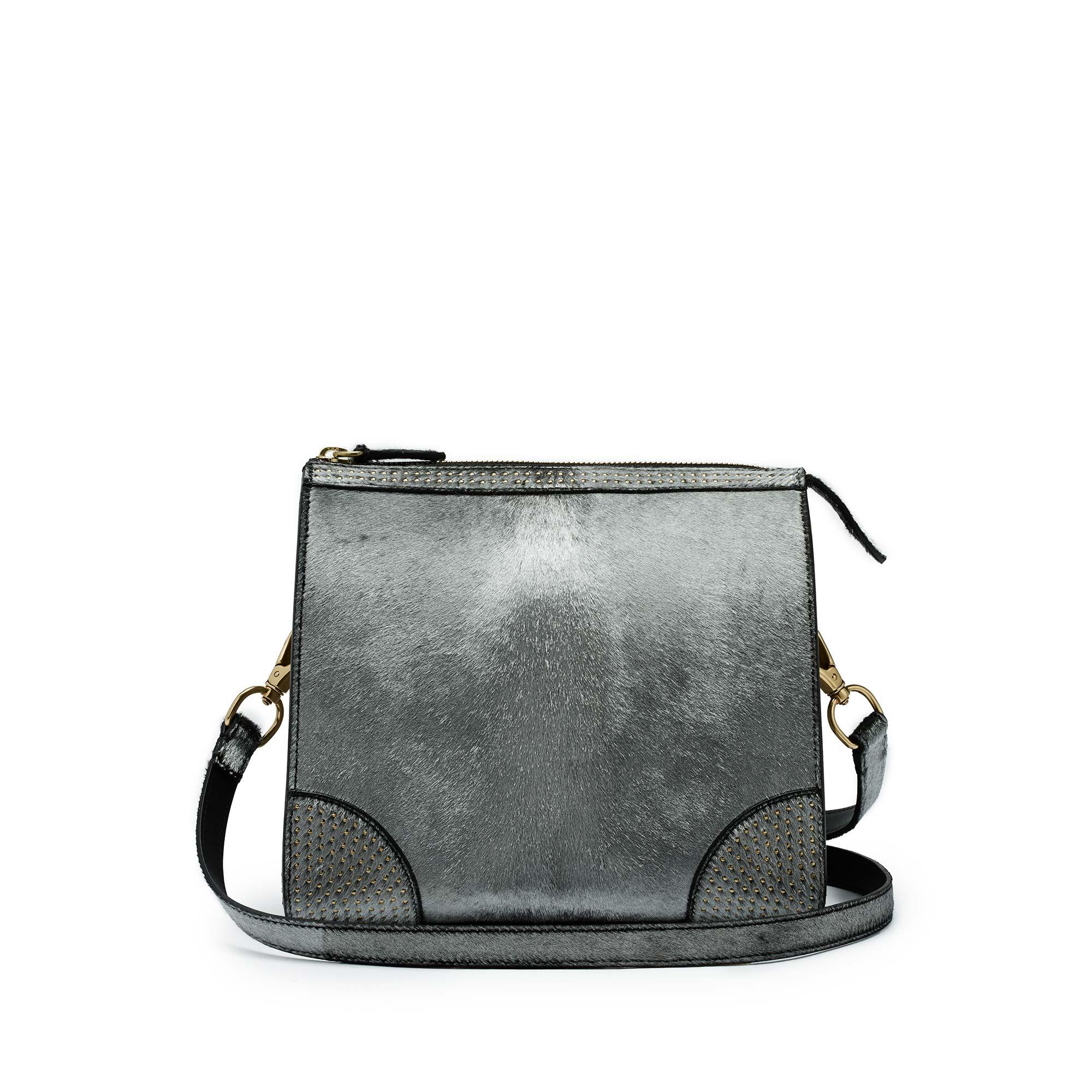 Darcy-Crossbody-silver-haircalf-bag-Bertoni-1949