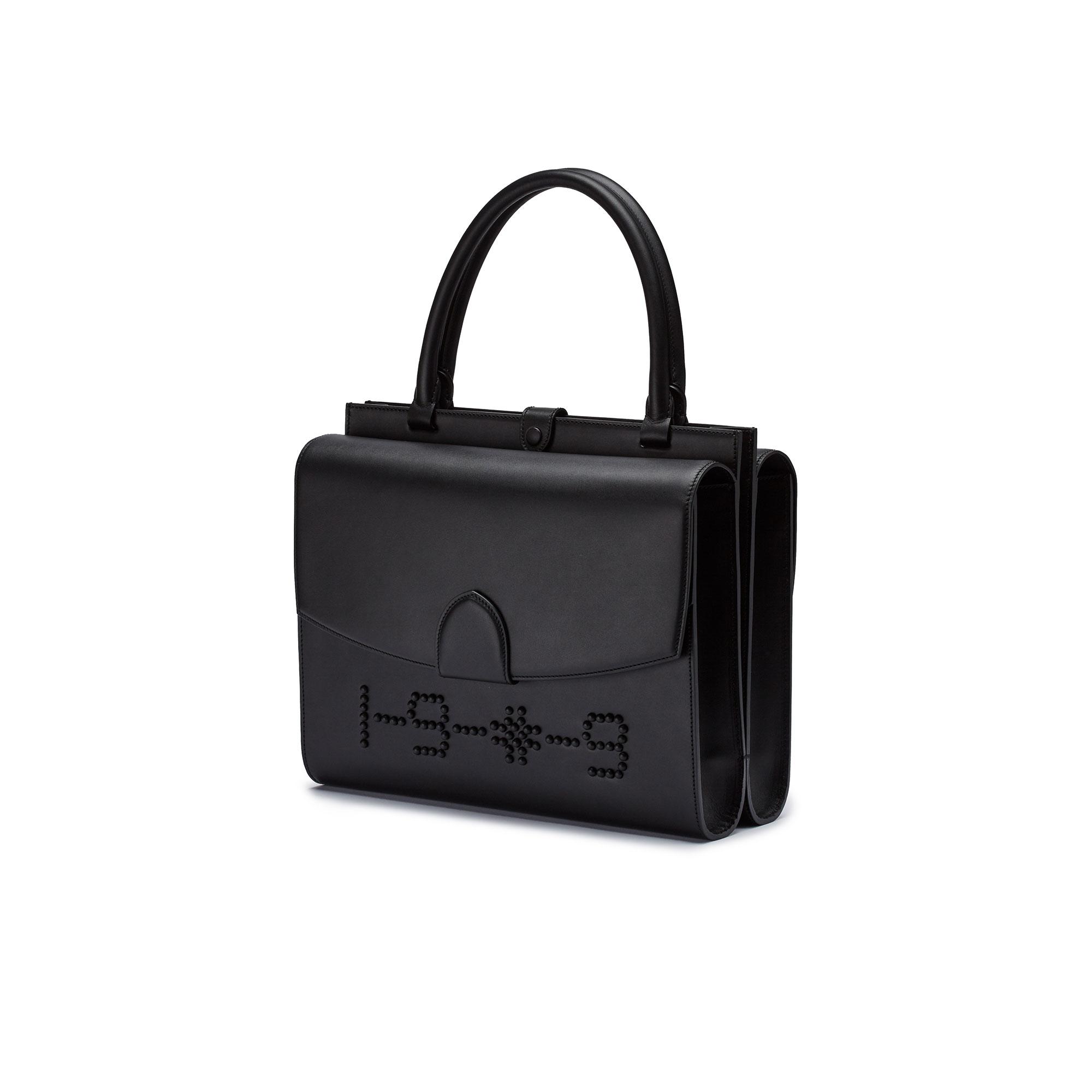 Double-Dafne-black-french-calf-bag-Bertoni-1949_01