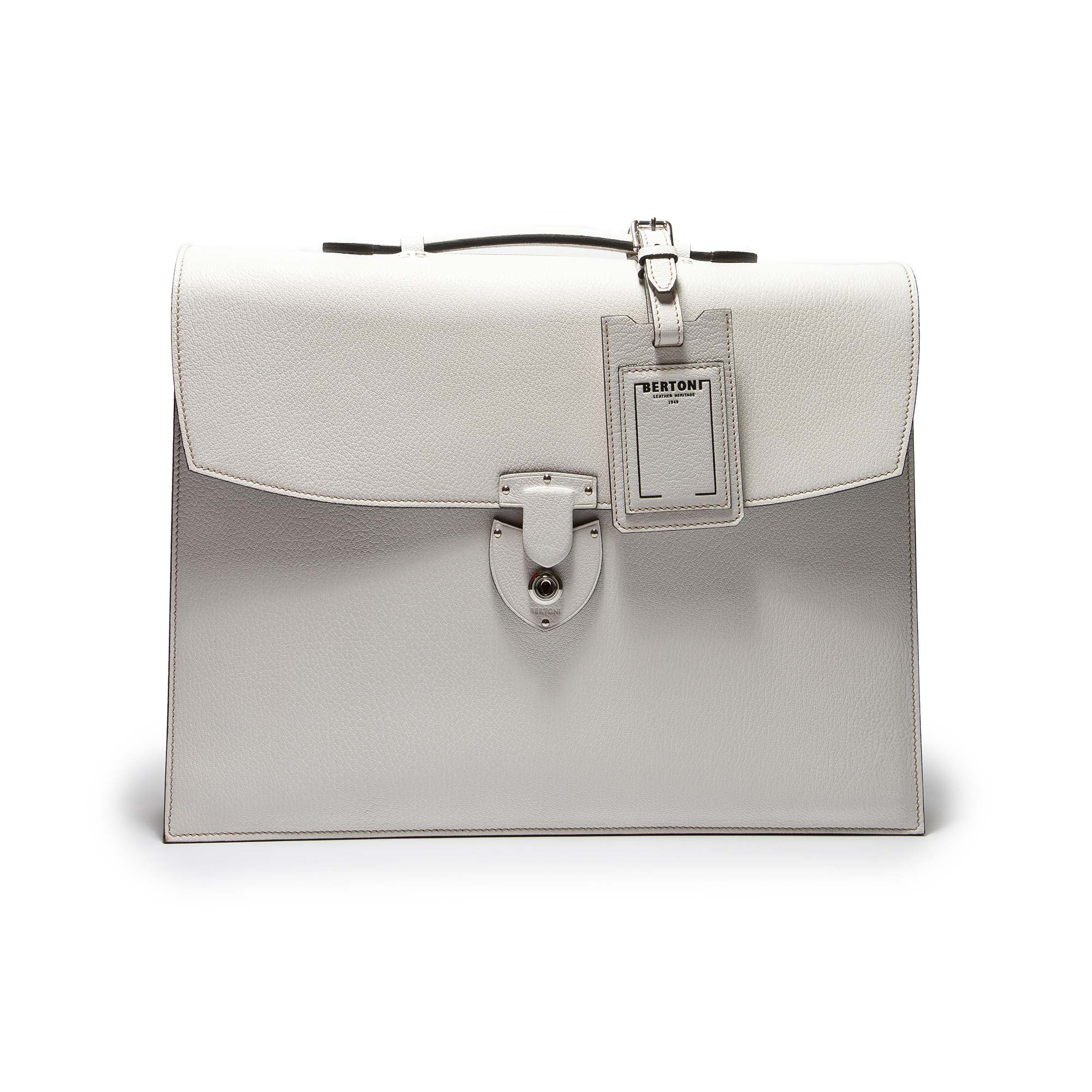 Double-Gusset-Briefcase-ivory-goat-skin-bag-Bertoni-1949