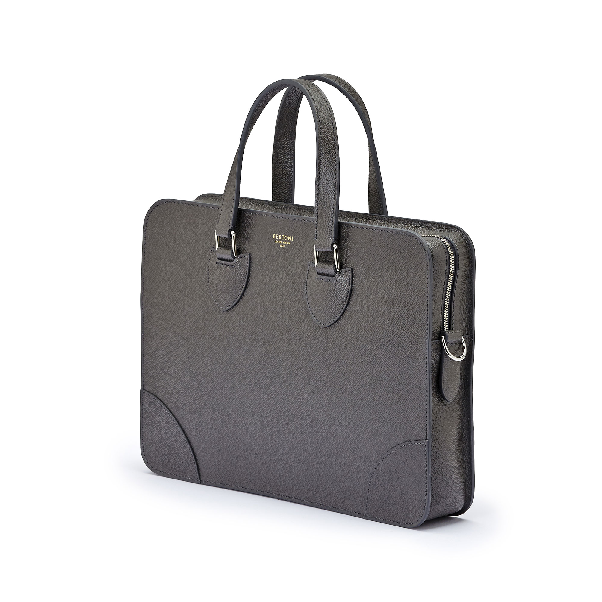 The grey grain calf Double Handle 37 by Bertoni 1949 02