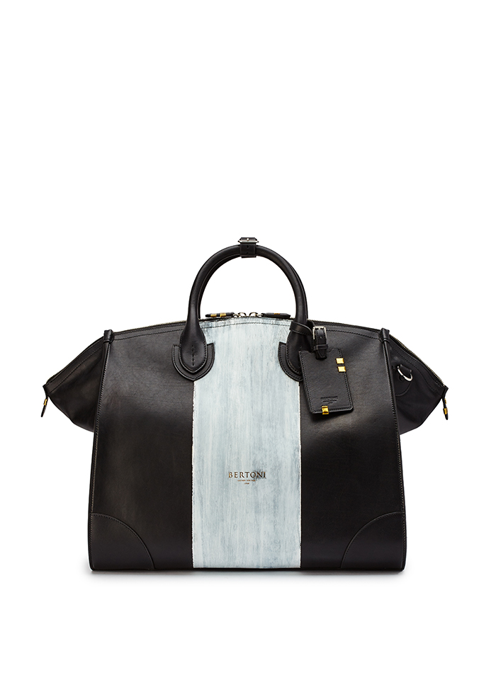 Gulliver-black-ivory-rock-calf-bag-Bertoni-1949-thumb