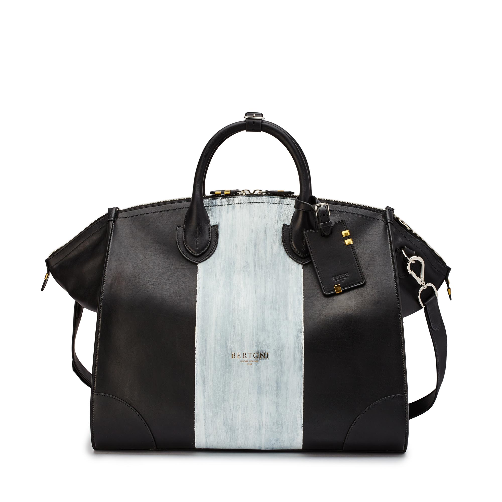 Gulliver-black-ivory-rock-calf-bag-Bertoni-1949_01