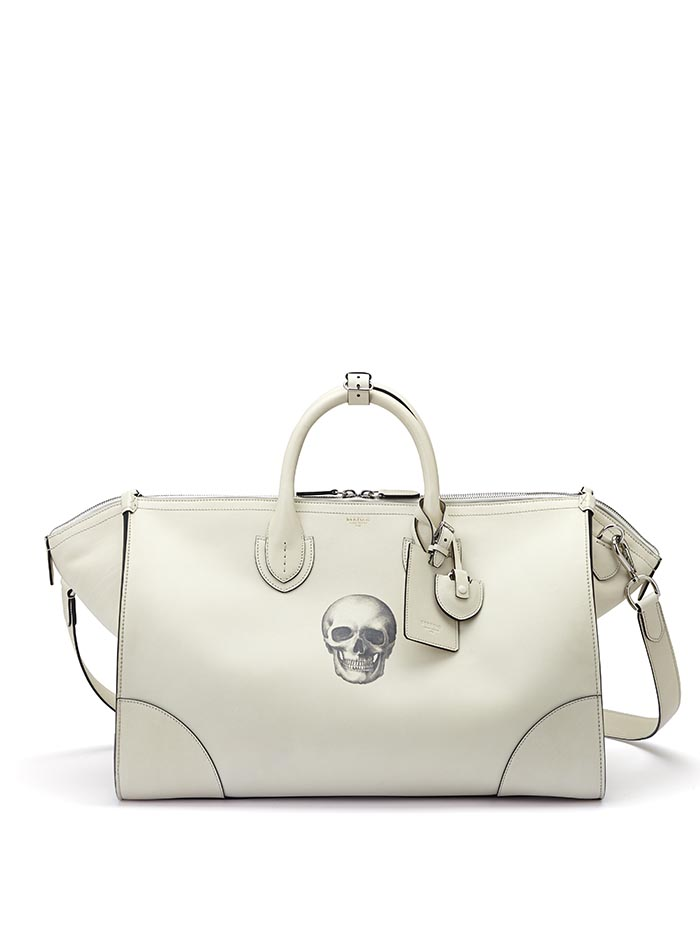 The ivory with skull french calf E/W Gulliver 52 by Bertoni 1949