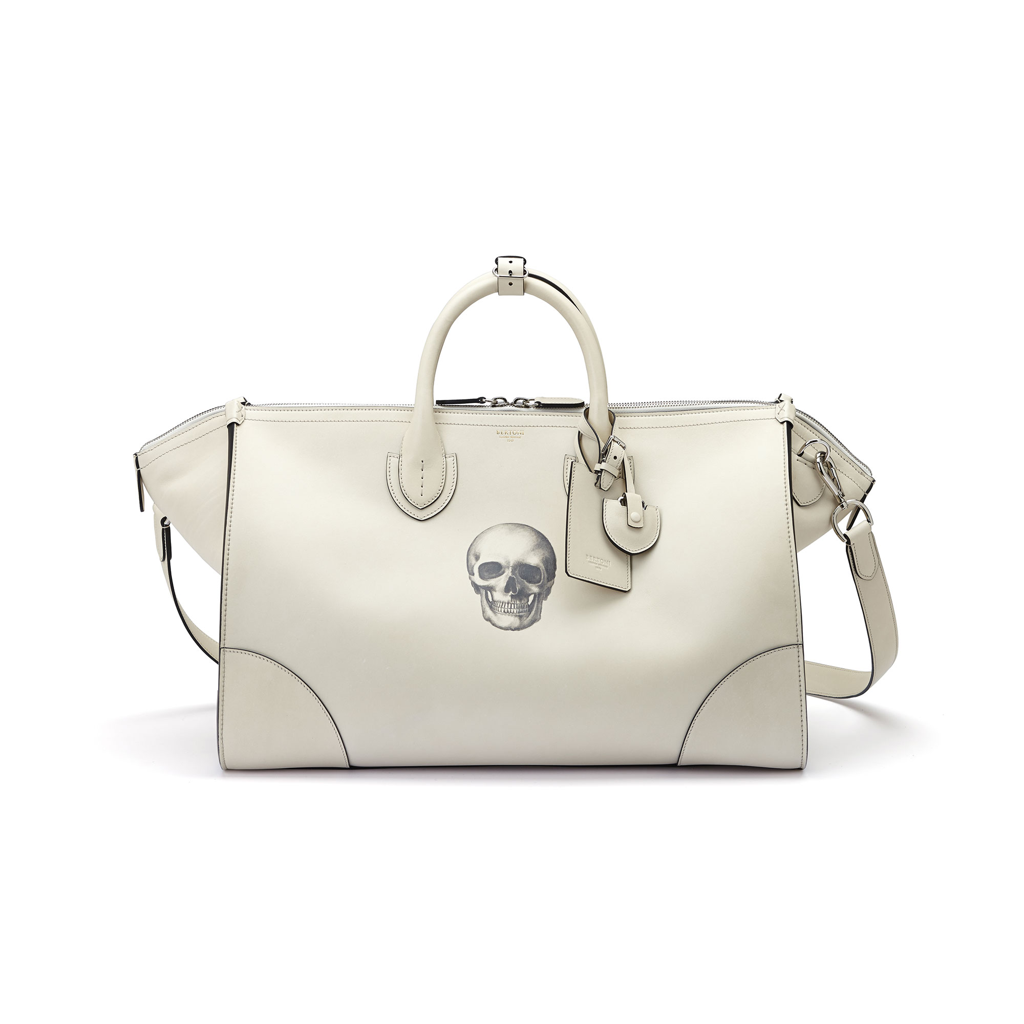 The ivory with skull french calf E/W Gulliver 52 by Bertoni 1949 03