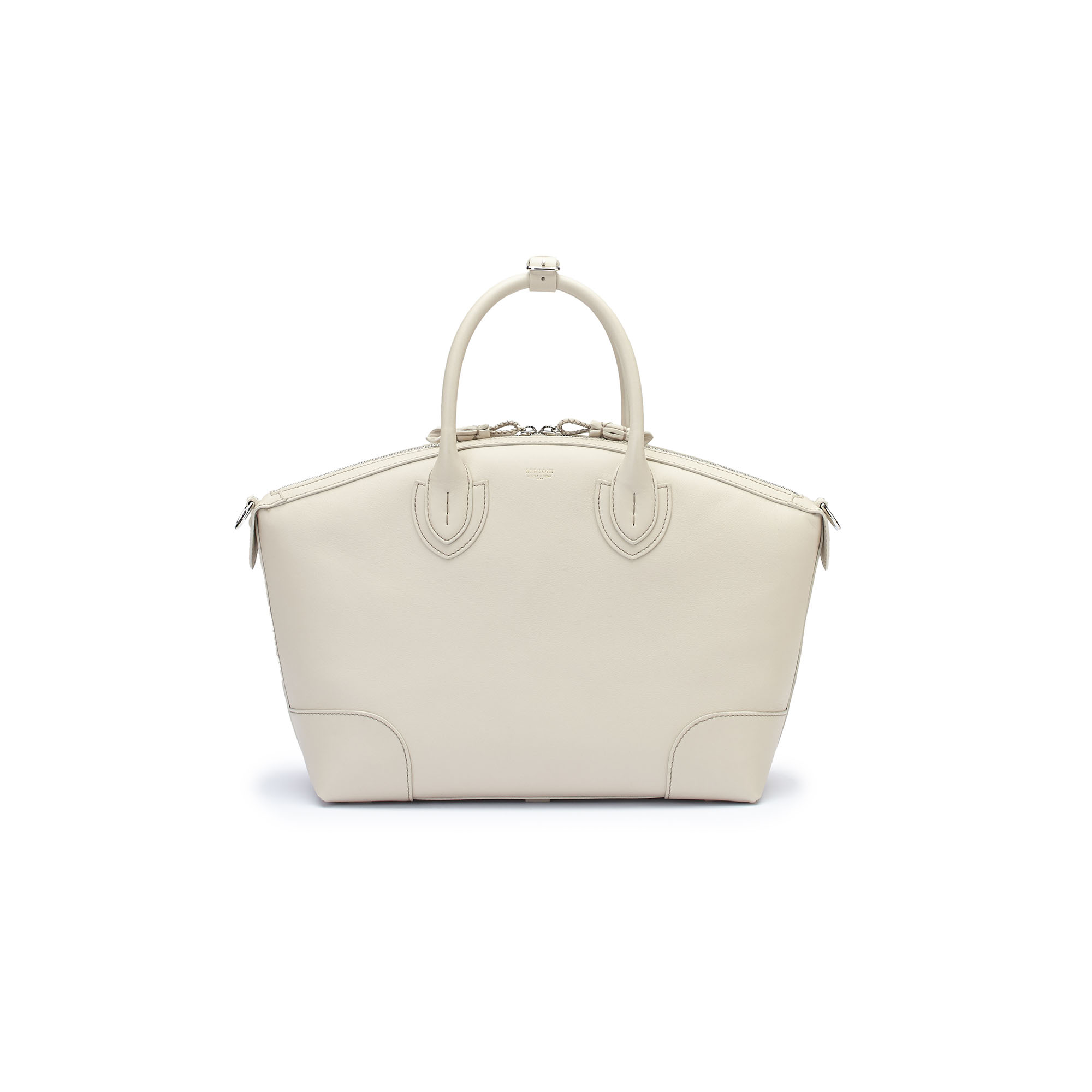 The ivory soft calf Anija bag by Bertoni 1949 01