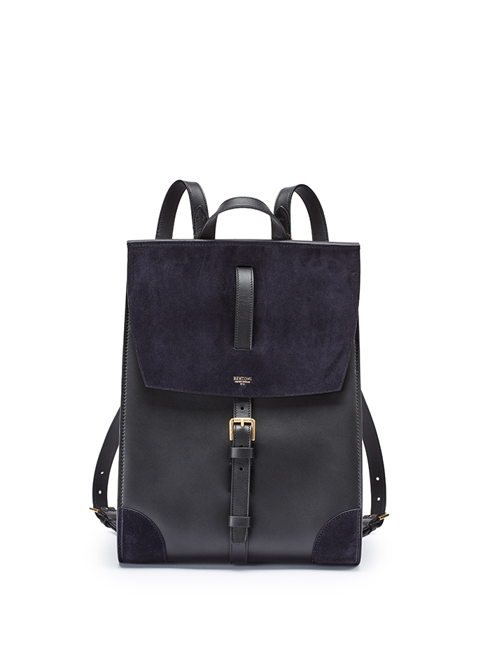 Julia-black-suede-backpack-Bertoni-1949-thumb