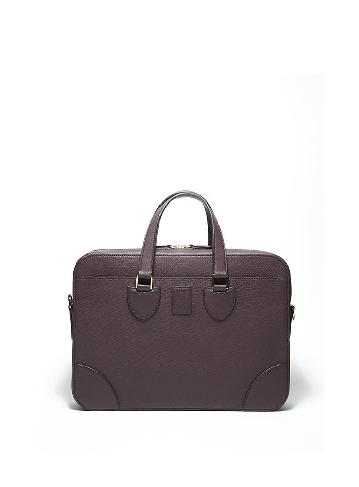 Medium-Double-Handle-bordeaux-goat-skin-bag-Bertoni-1949-thumb