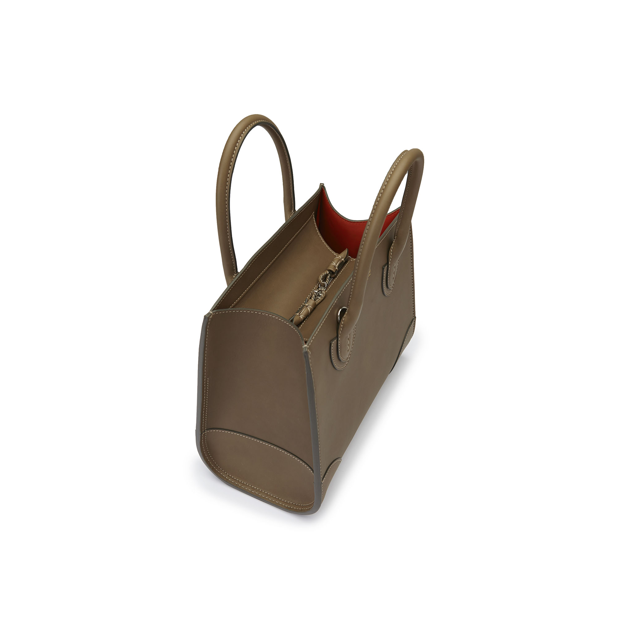The military green french calf Darcy bag by Bertoni 1949 04