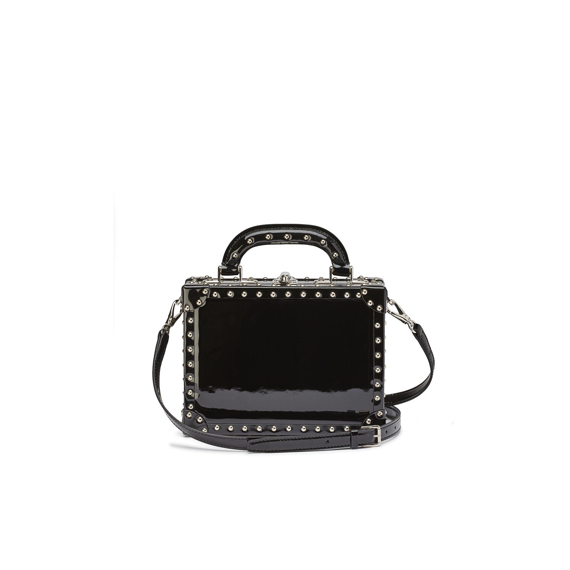 Mini-Squared-Bertoncina-black-studded-patent-leather-Bertoni-1949