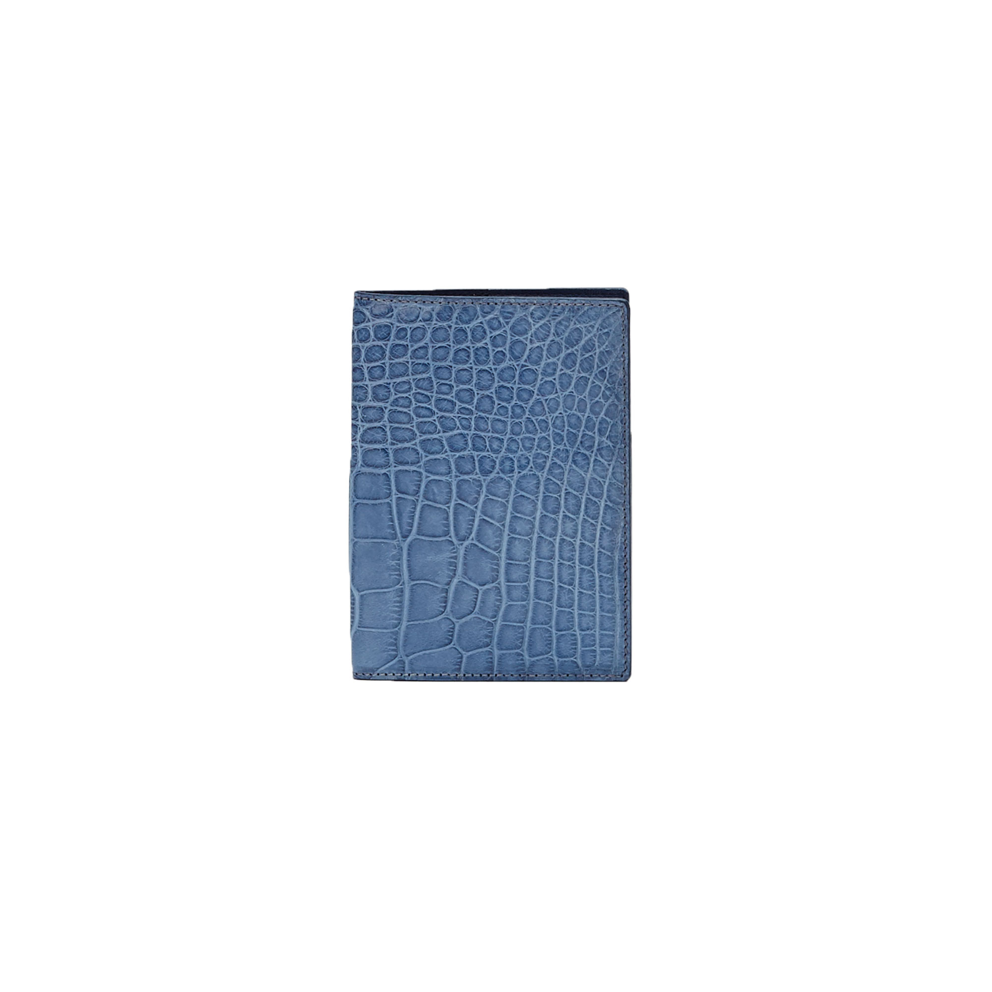 The navy alligator Passport Case by Bertoni 1949 01
