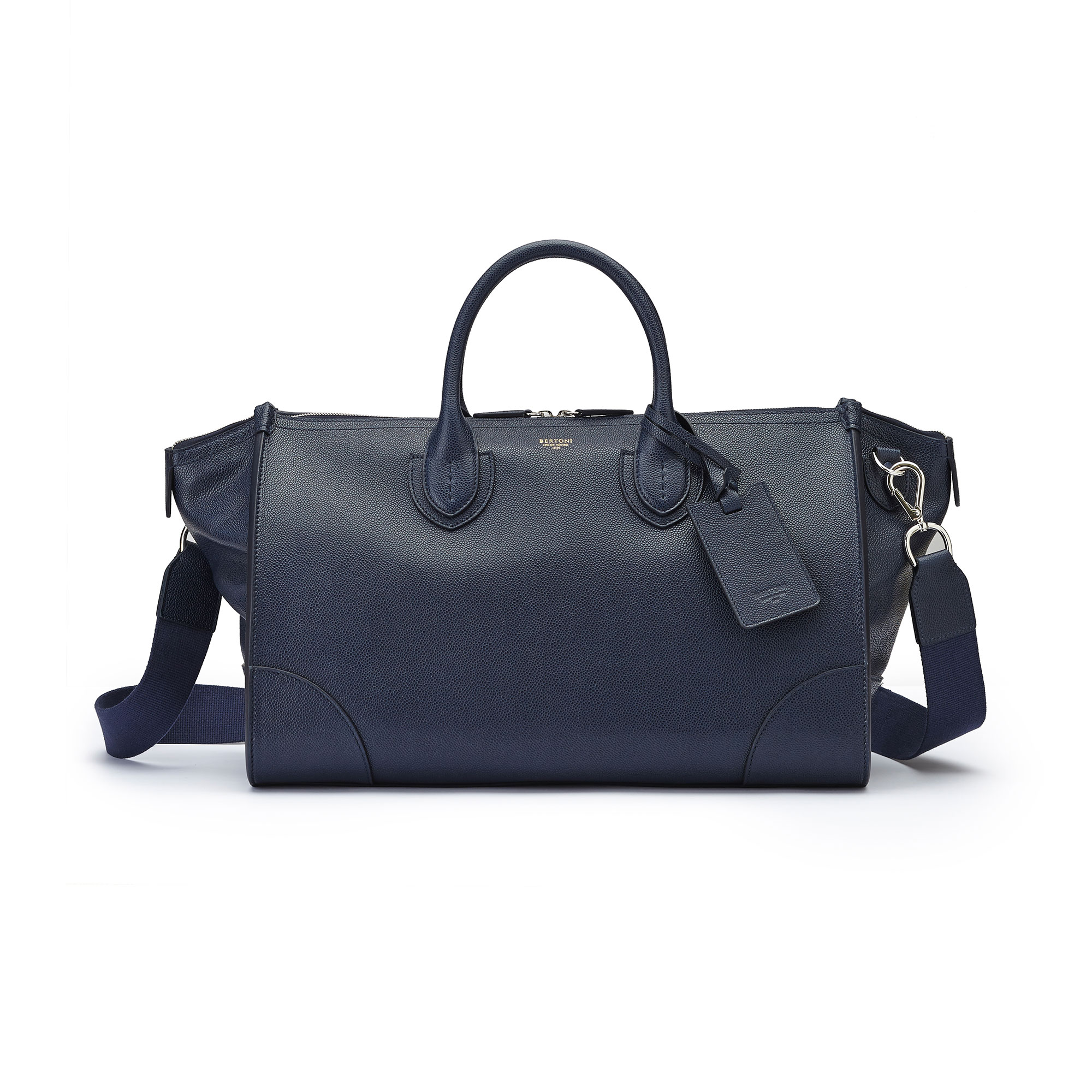 The navy french calf E/W Gulliver 47 by Bertoni 1949 02