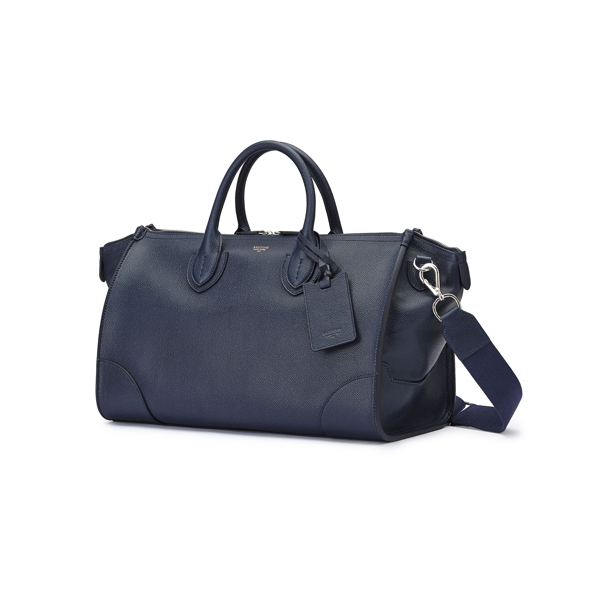 The navy french calf E/W Gulliver 47 by Bertoni 1949 03