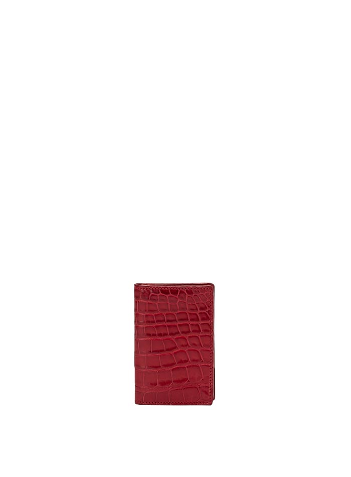 The red alligator Business Card Holder by Bertoni 1949