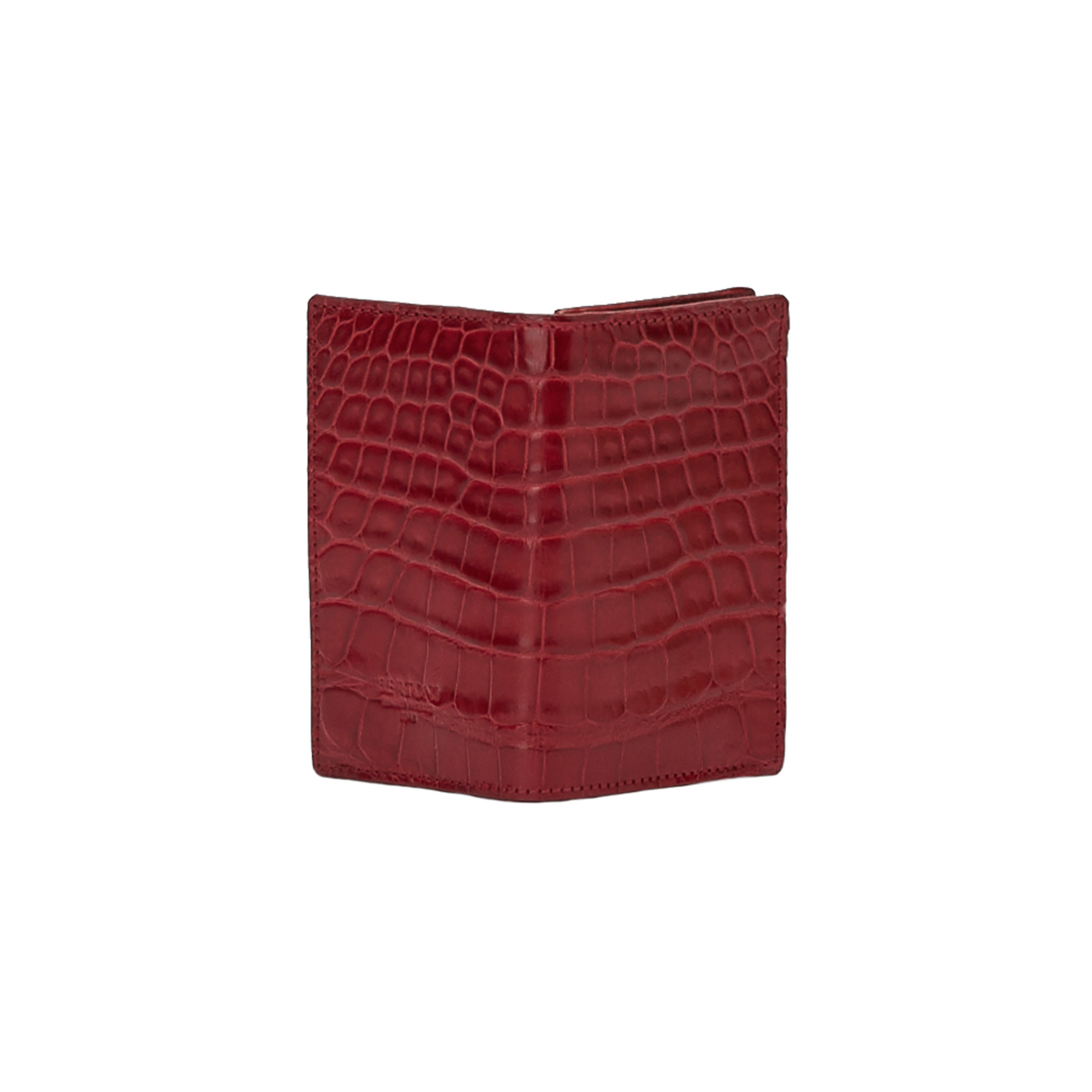 The red alligator Business Card Holder by Bertoni 1949 03