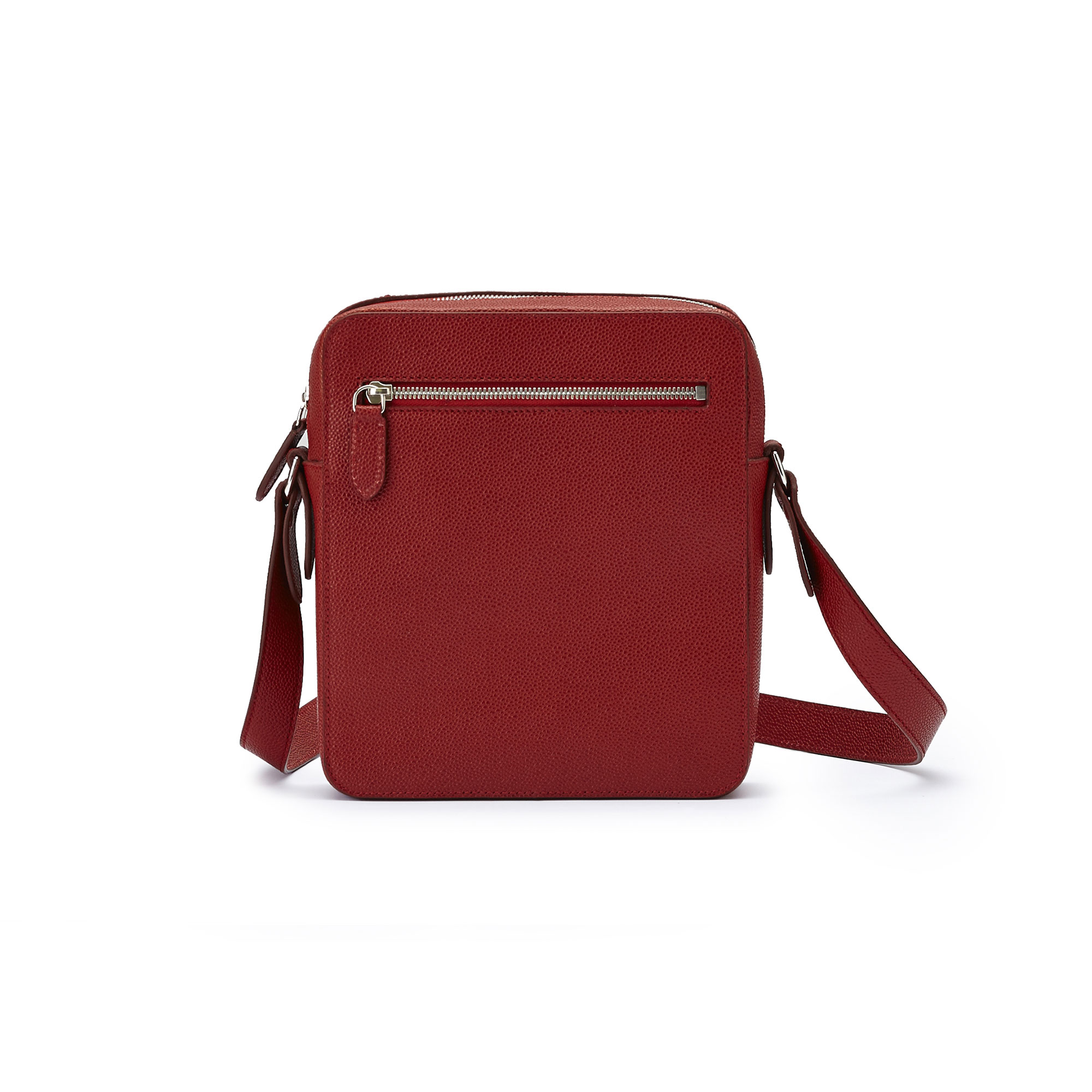 The red grain calf Man Bag by Bertoni 1949 03