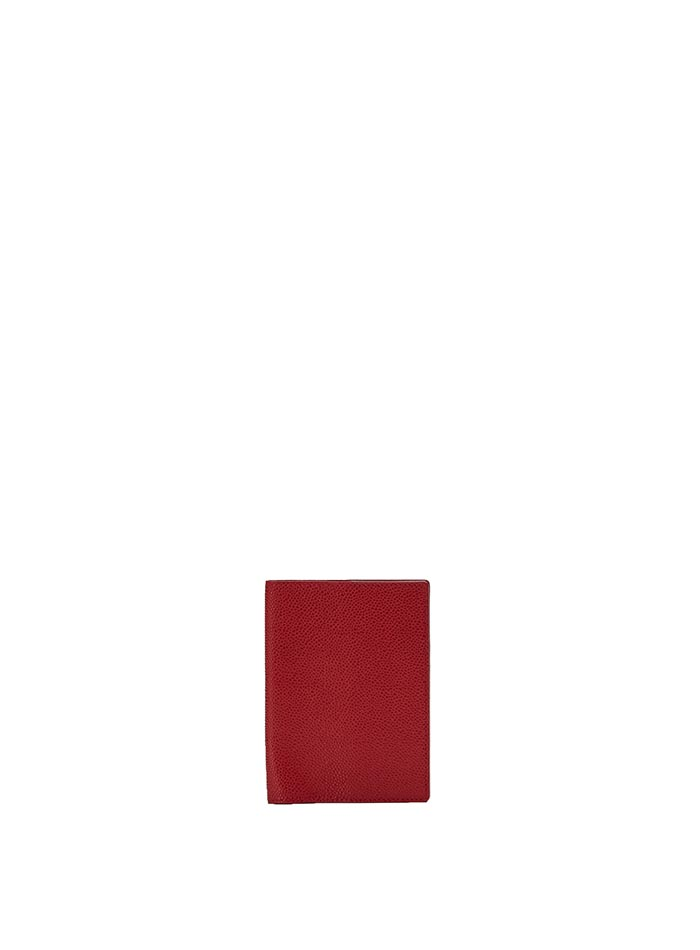 The red grain calf Passport Case by Bertoni 1949