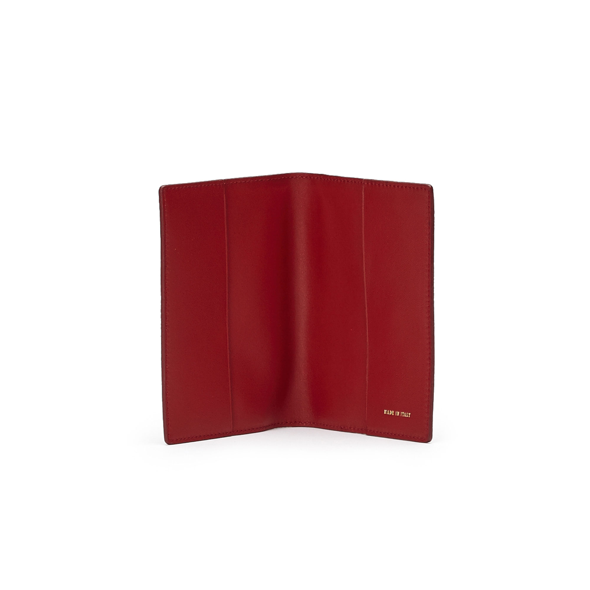 The red grain calf Passport Case by Bertoni 1949 02