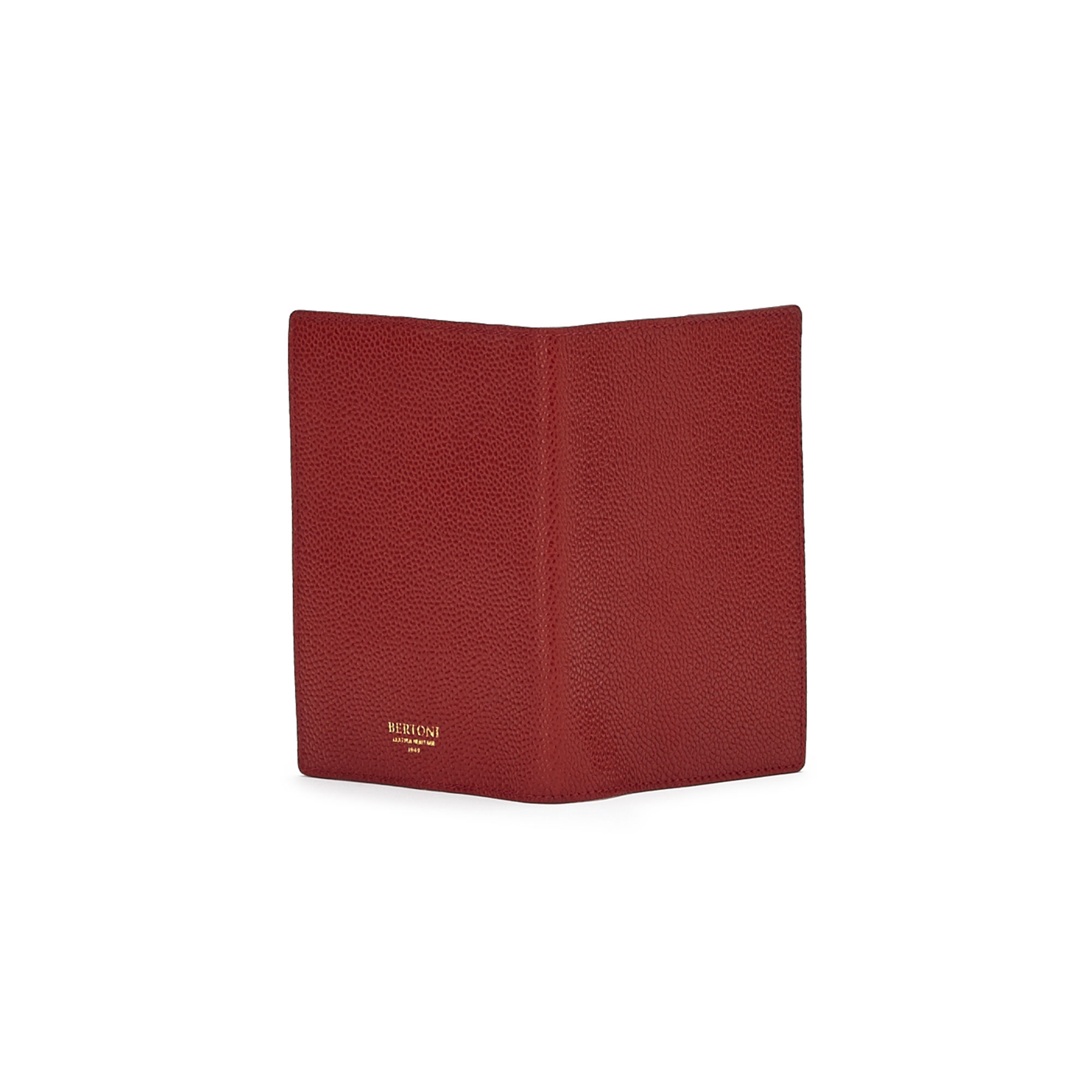 The red grain calf Passport Case by Bertoni 1949 03
