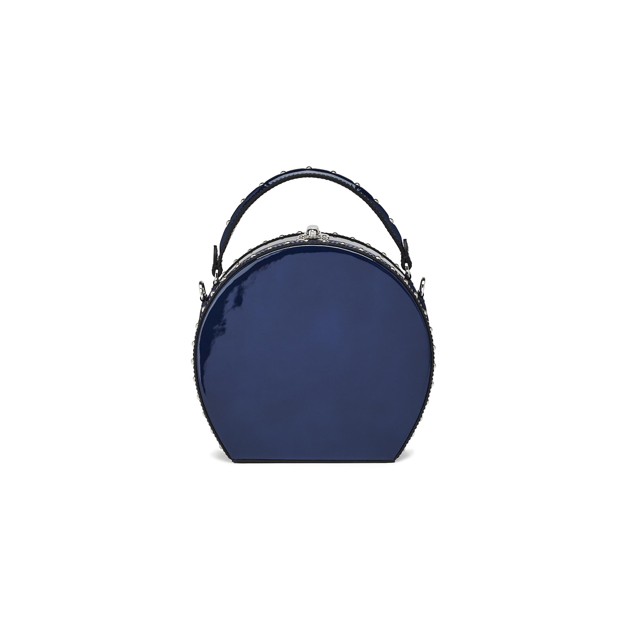Regular-Bertoncina-dark-blue-patent-leather-bag-Bertoni-1949