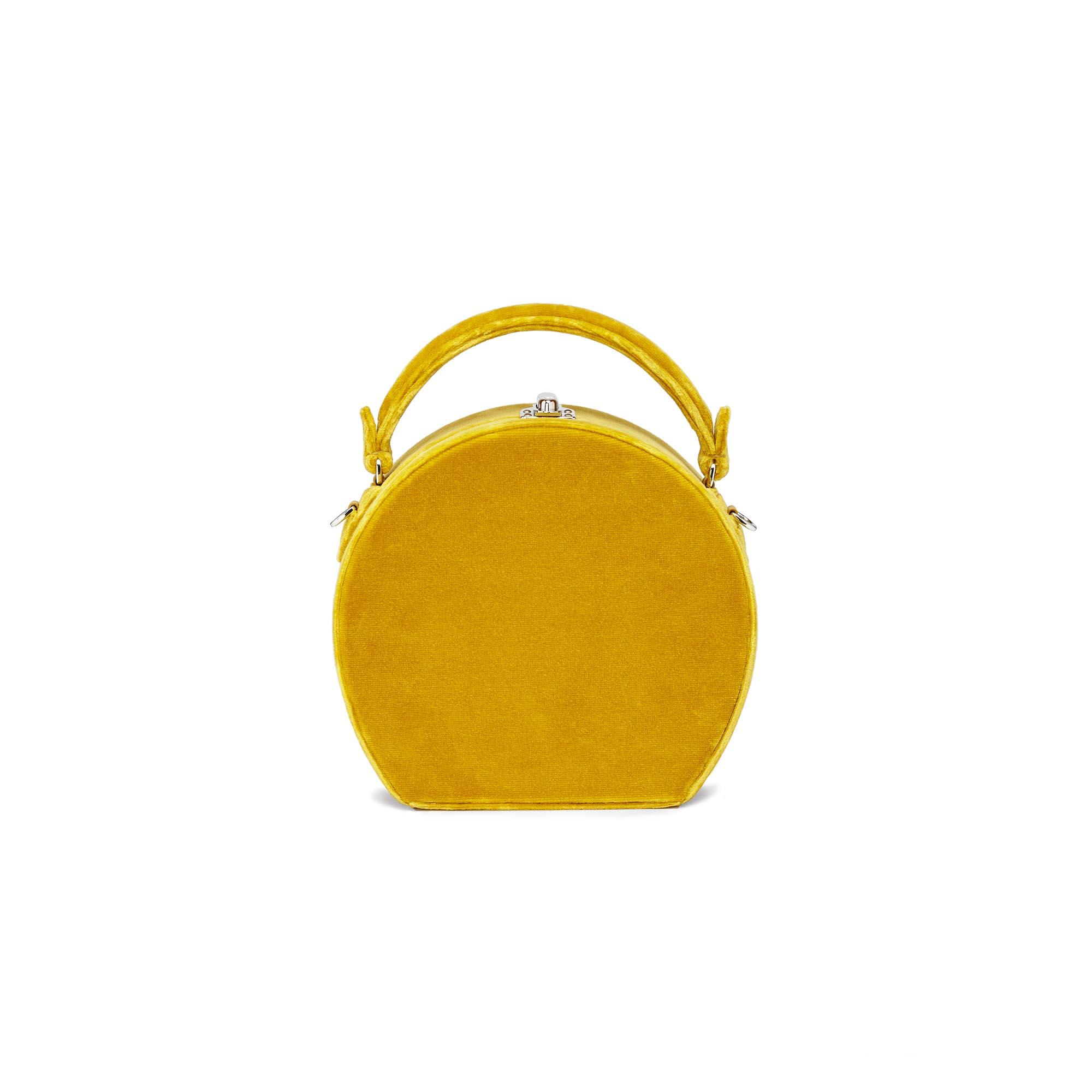 Regular-Bertoncina-mustard-velvet-bag-Bertoni-1949