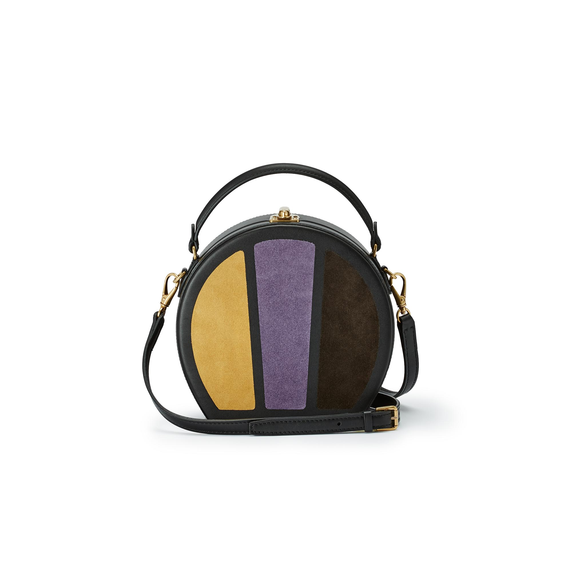 Regular-Bertoncina-yellow-purple-brown-suede-bag-Bertoni-1949_01