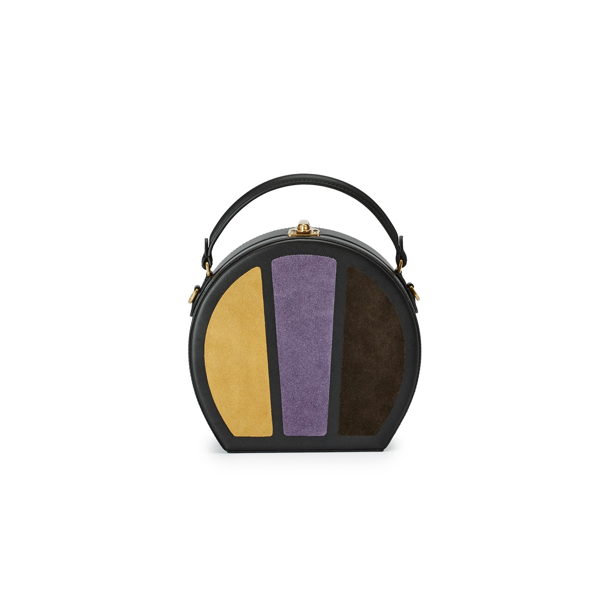 Regular-Bertoncina-yellow-purple-brown-suede-bag-Bertoni-1949_02