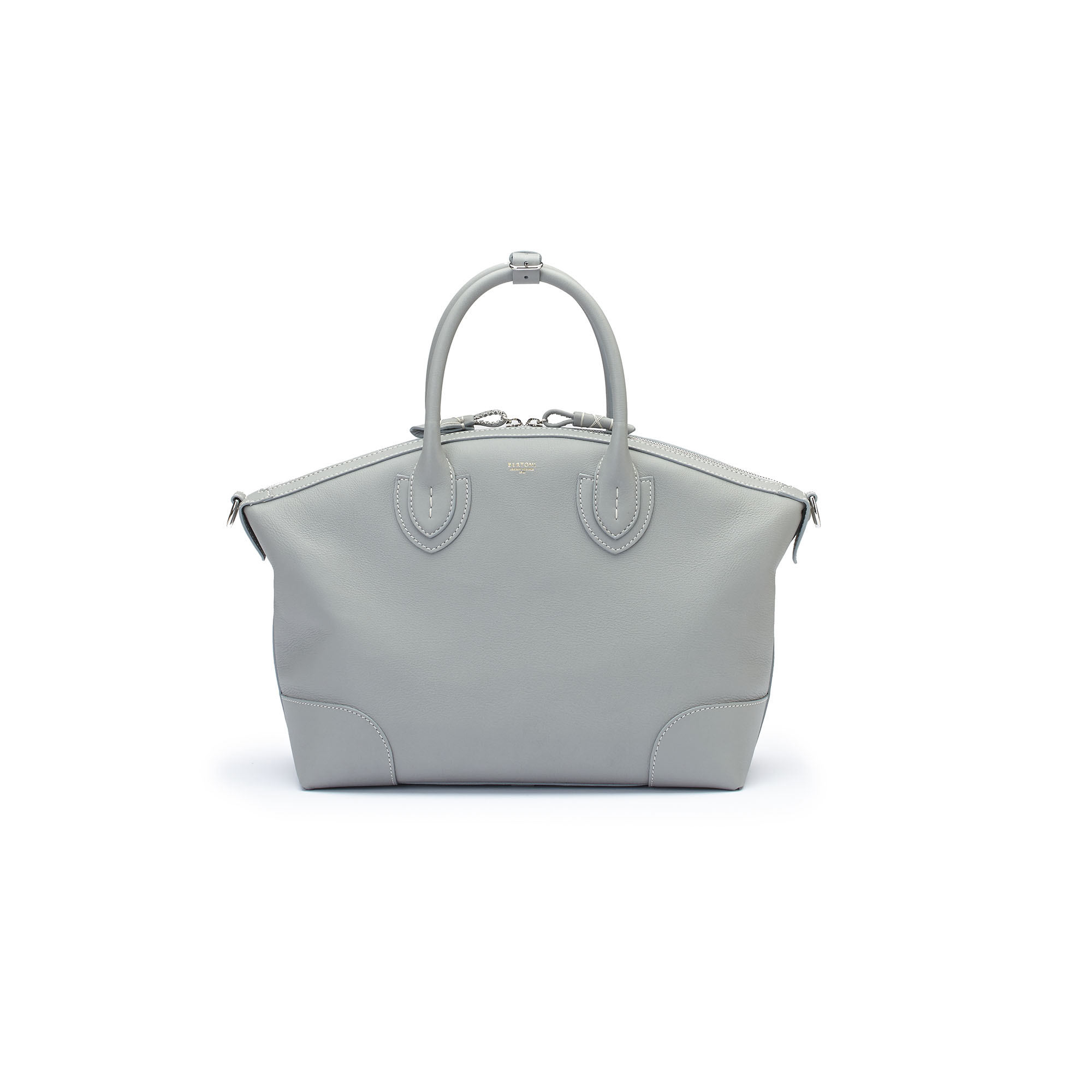 The sage soft calf Anija bag by Bertoni 1949 01