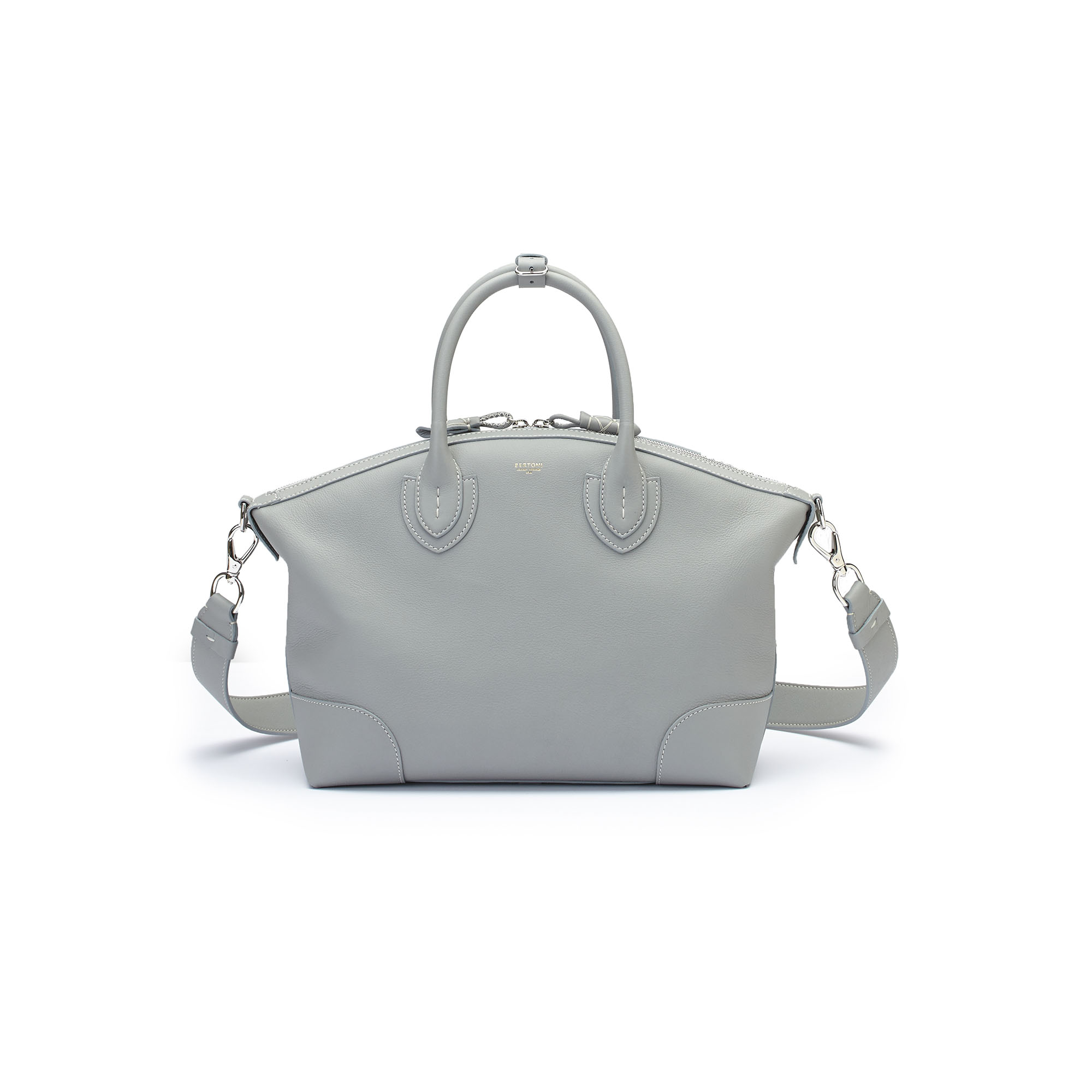 The sage soft calf Anija bag by Bertoni 1949 03
