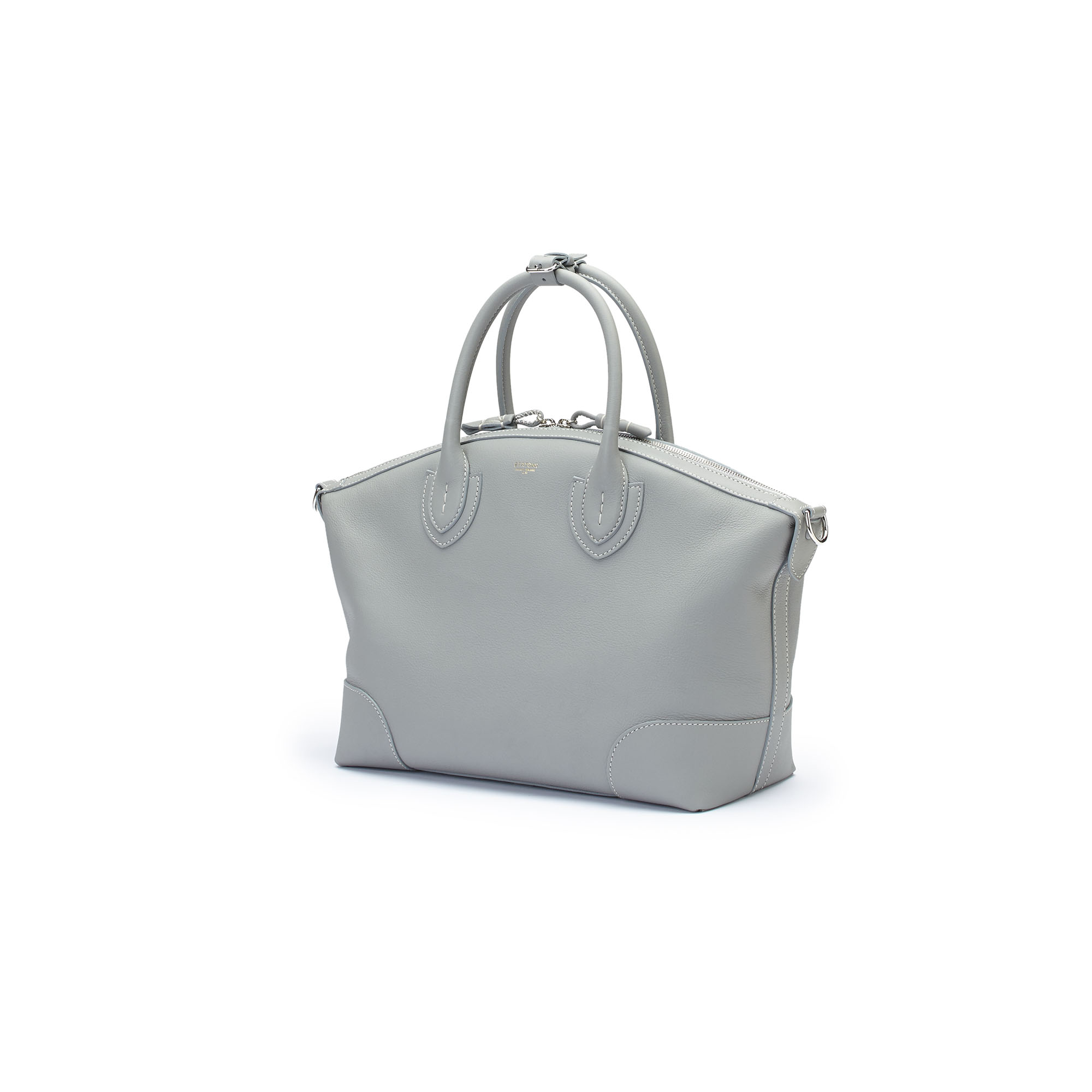 The sage soft calf Anija bag by Bertoni 1949 02