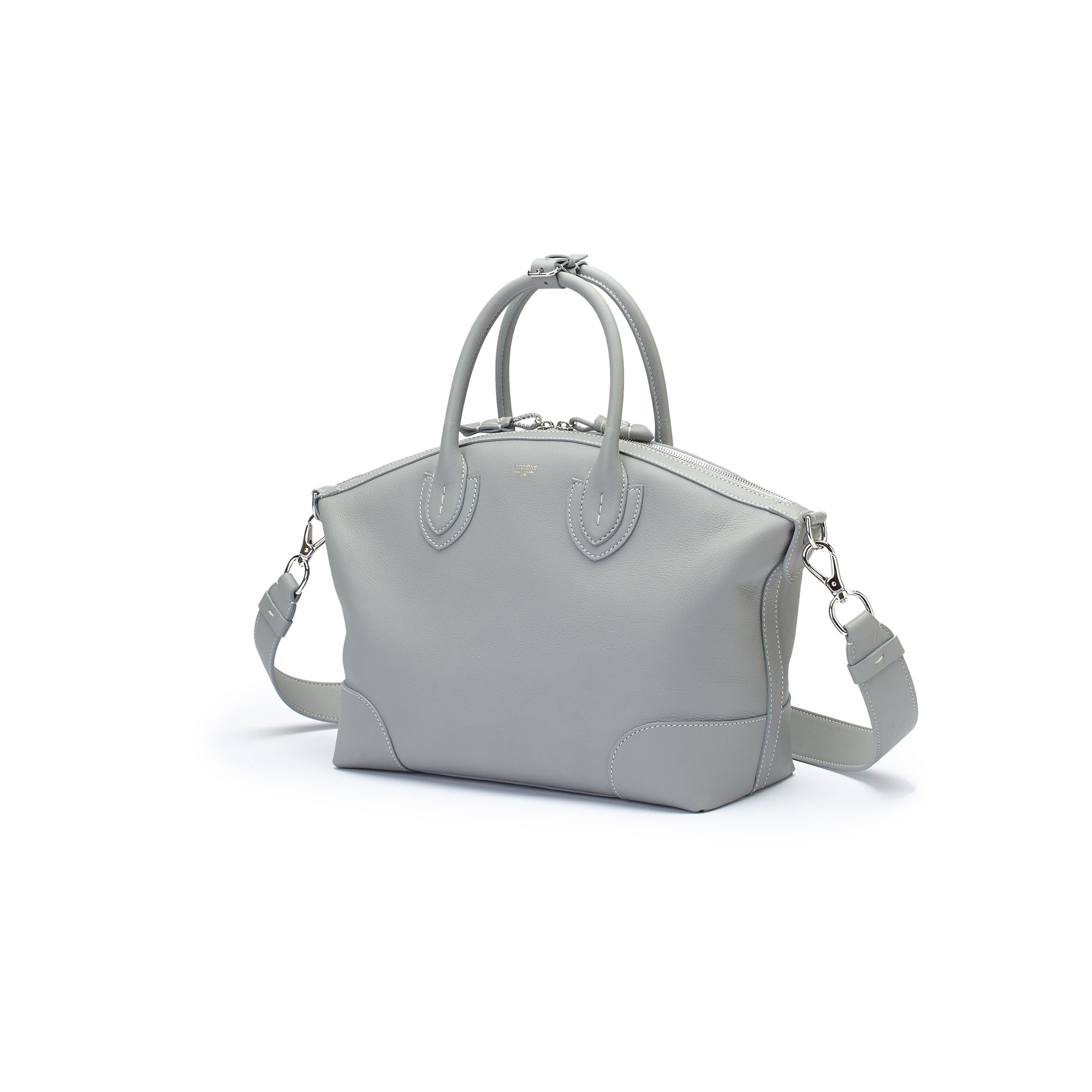 The sage soft calf Anija bag by Bertoni 1949 04