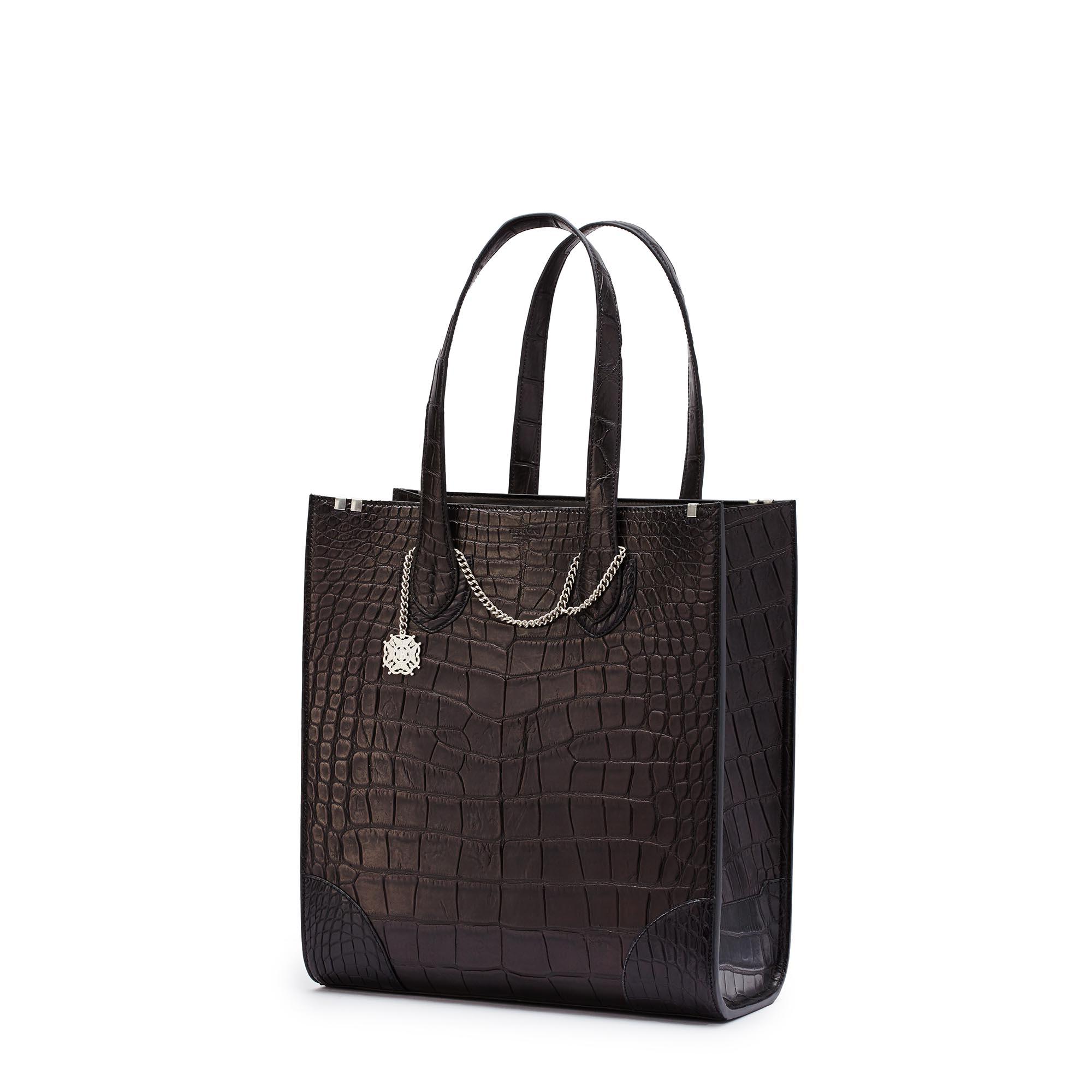 Signatura-Tote-black-alligator-bag-Bertoni-1949_02