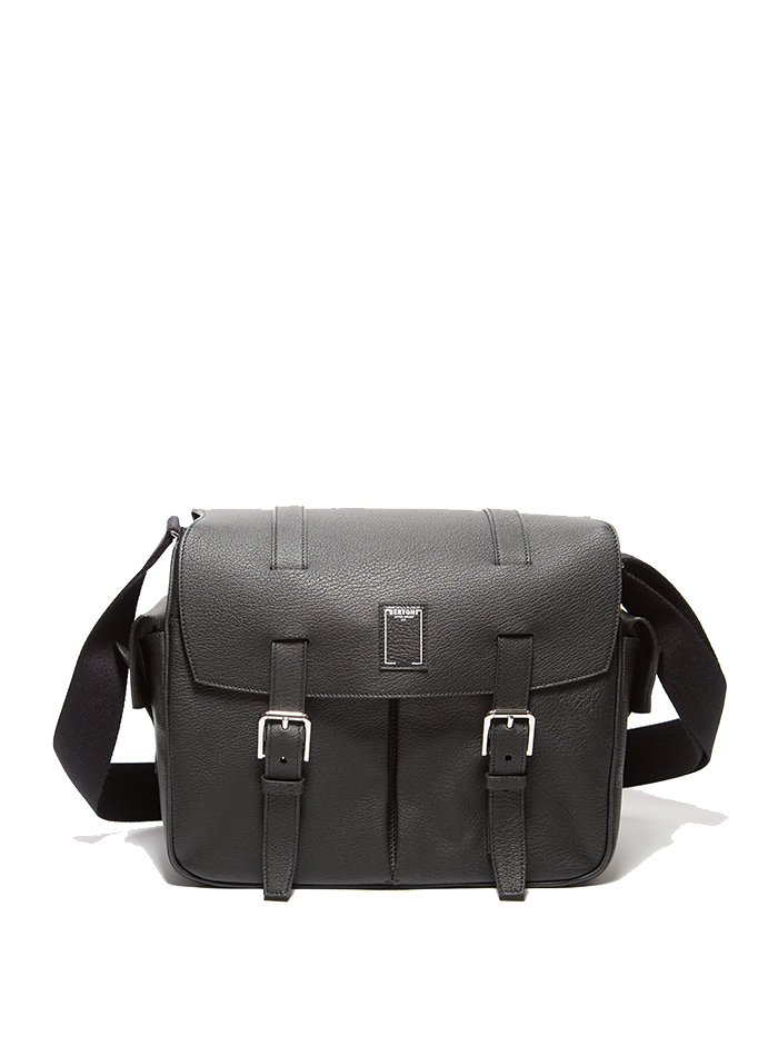Traveller-Messenger-black-rock-calf-bag-Bertoni-1949-thumb