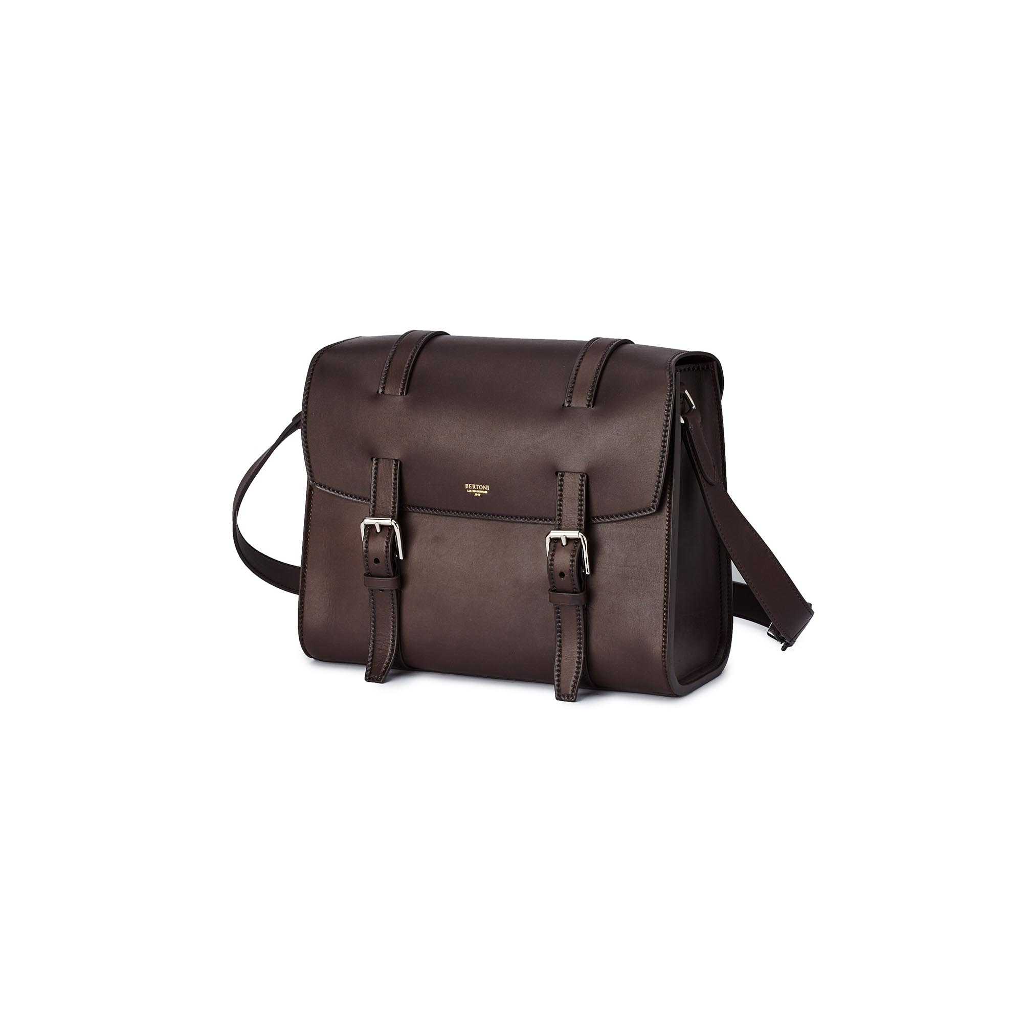 Signature-Messenger-dark-brown-french-calf-bag-Bertoni-1949_01