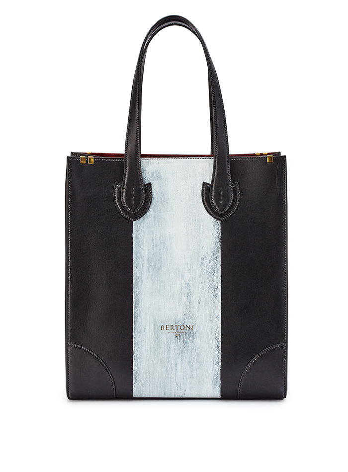 Signature-Tote-black-rock-calf-bag-Bertoni-1949-thumb