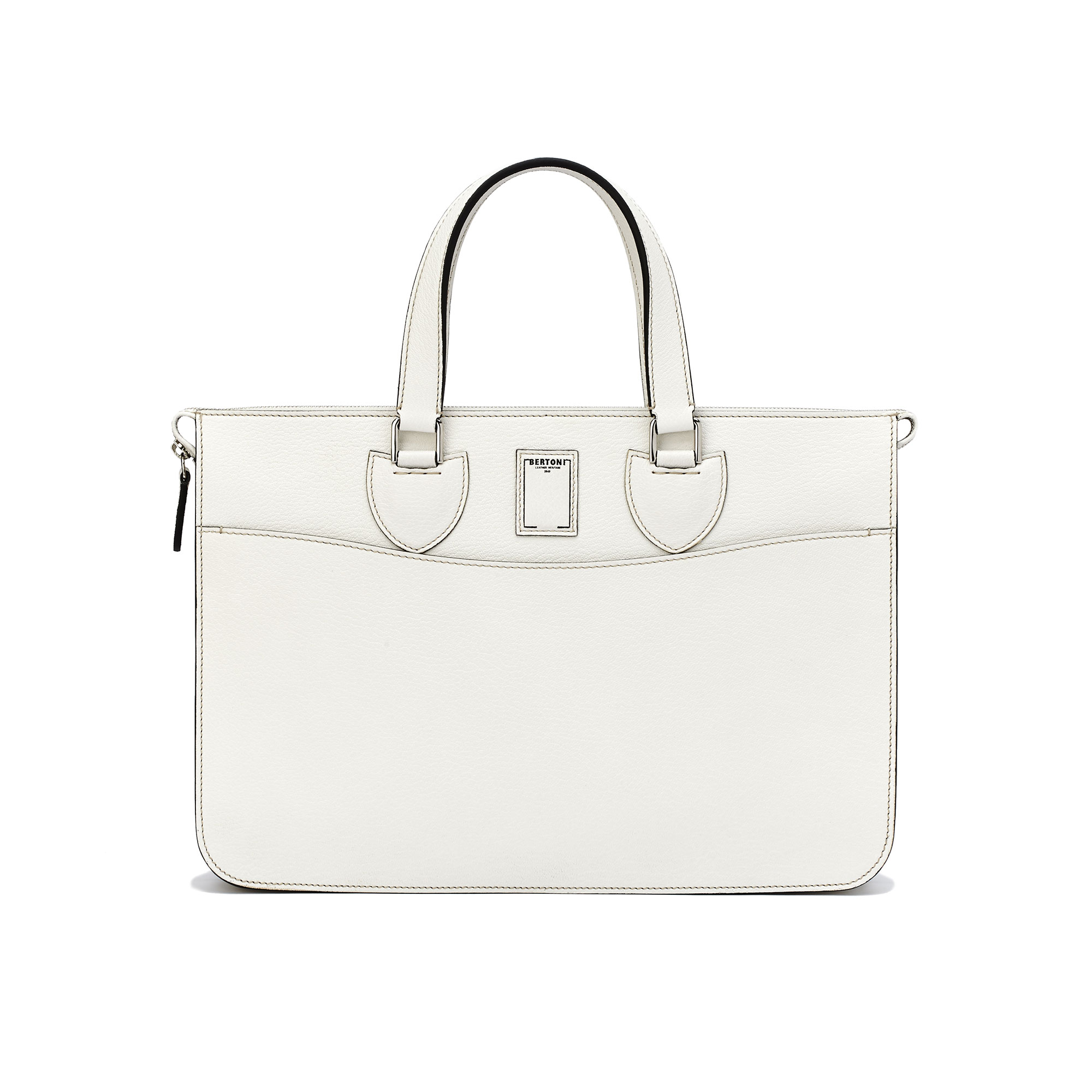 Single-Layer-Case-Ivory-goat-skin-bag-Bertoni-1949