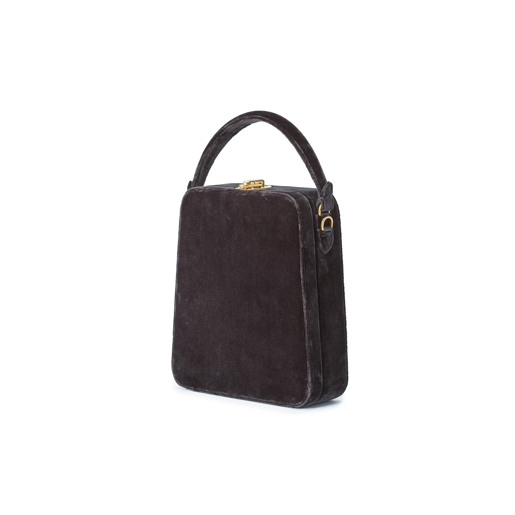 Tall-Bertoncina-charcoal-gray-velvet-bag-Bertoni-1949_02