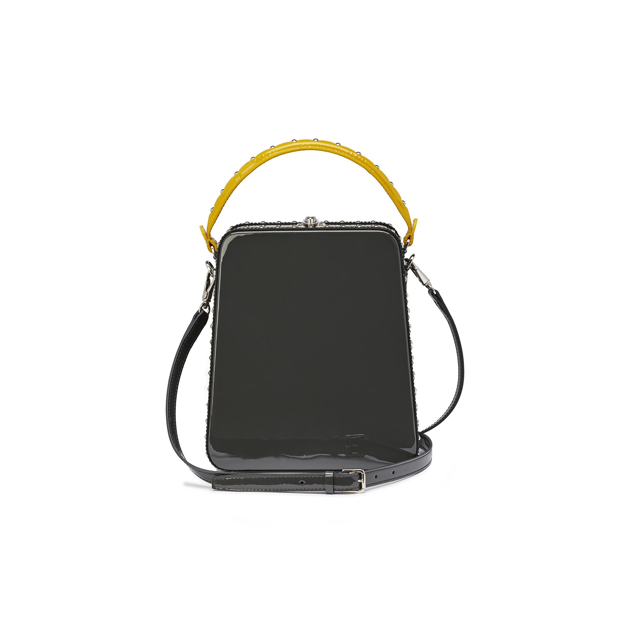 Tall-Bertoncina-gray-patent-leather-bag-Bertoni-1949