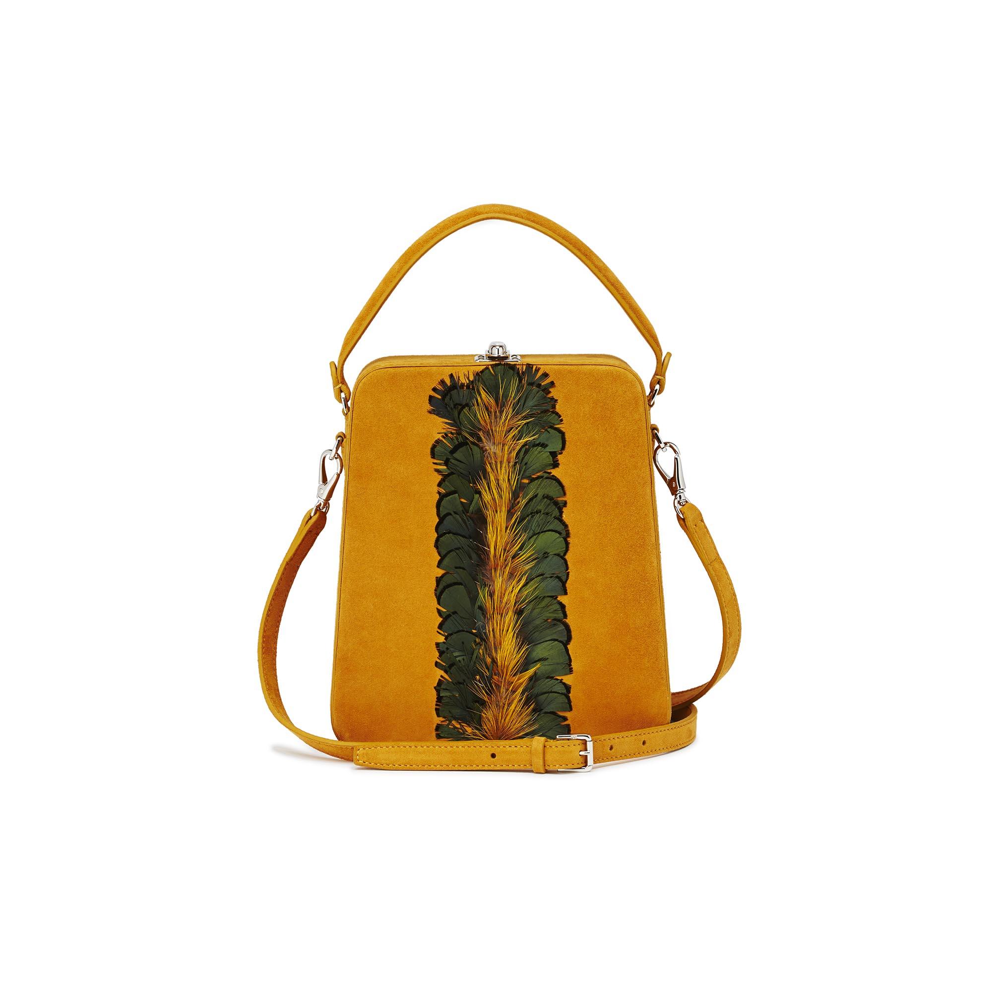 Tall-Bertoncina-mustard-suede-bag-Bertoni-1949