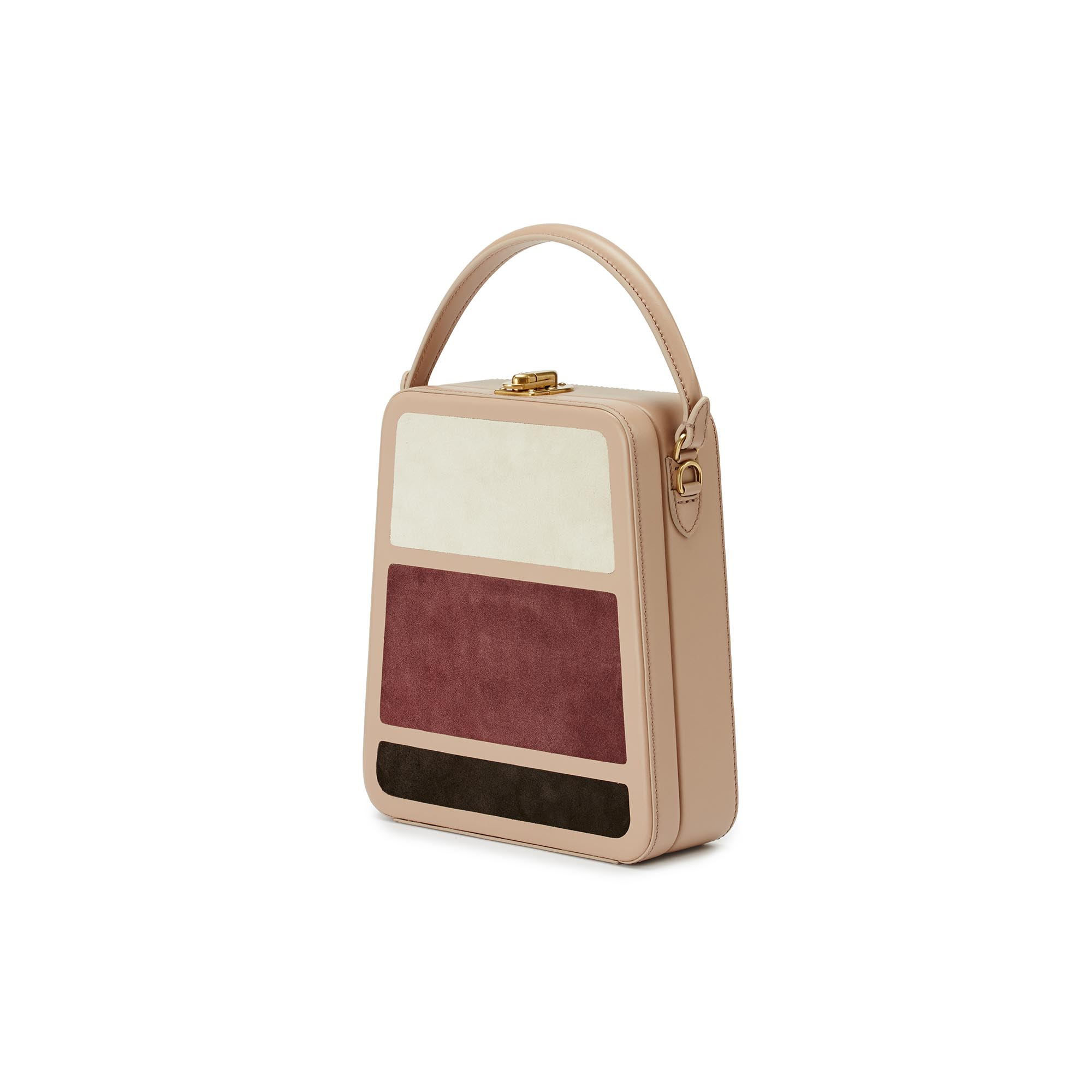 Tall-Bertoncina-rose-ivory-wine-suede-bag-Bertoni-1949_02