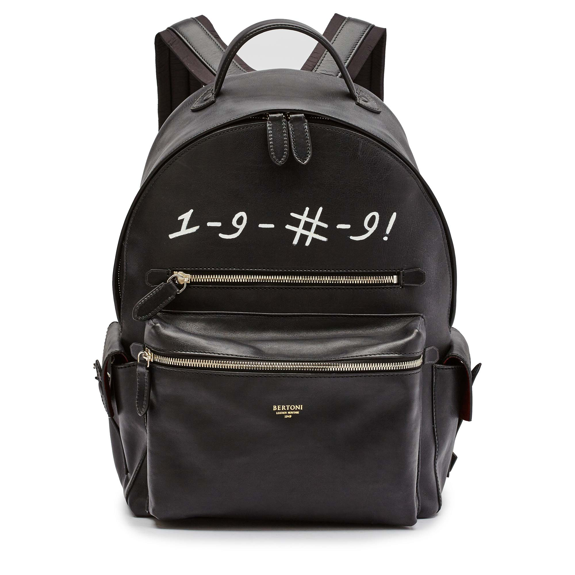 Zip-Backpack-black-rock-calf-Bertoni-1949