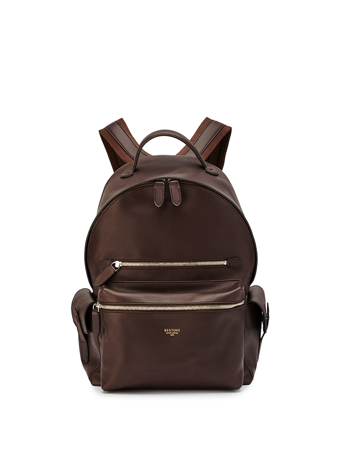 Zip-Backpack-dark-brown-french-calf-Bertoni-1949-thumb